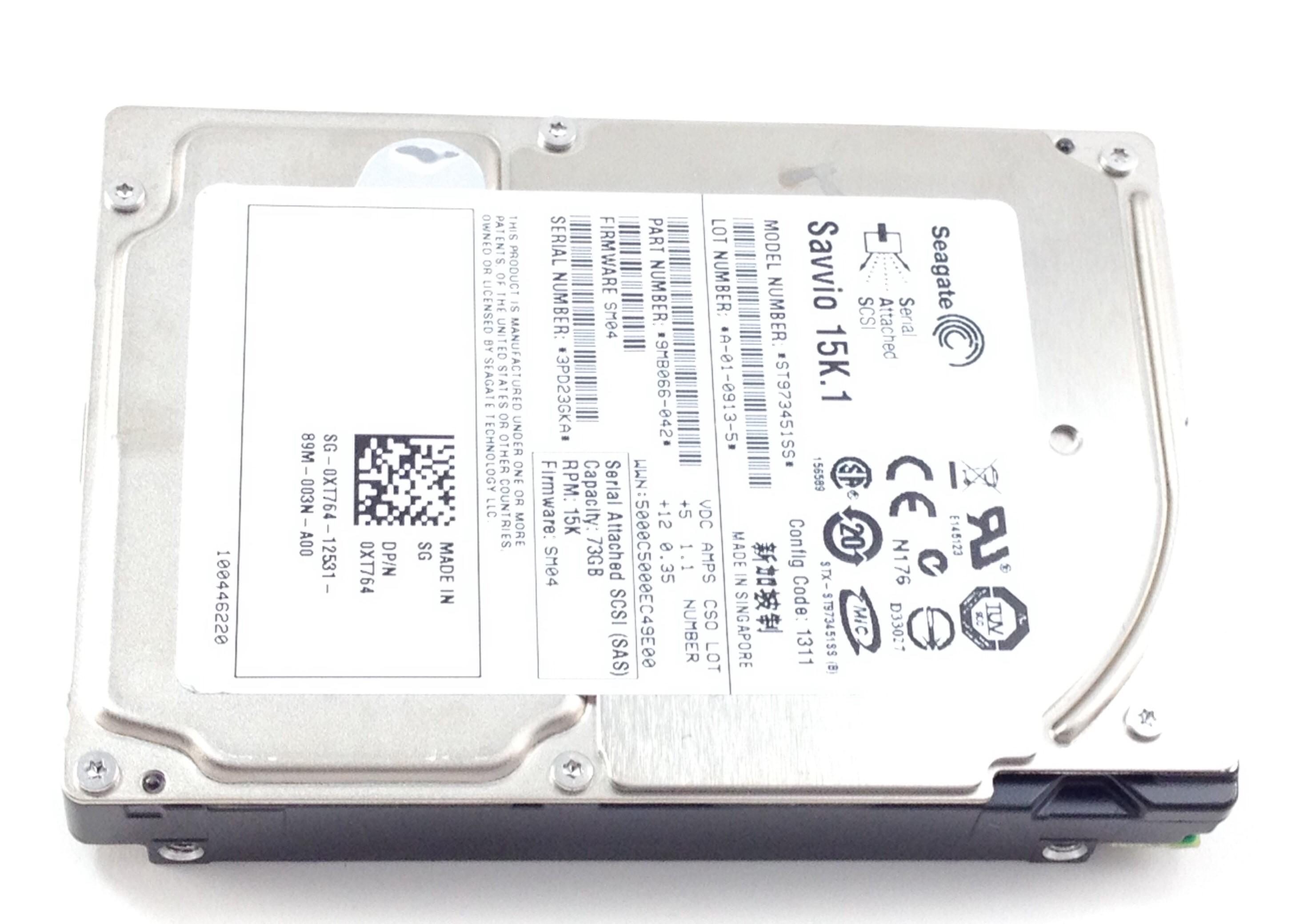 Dell 73GB 15K SAS 6Gb/s 2.5'' Hard Drive (W345K)