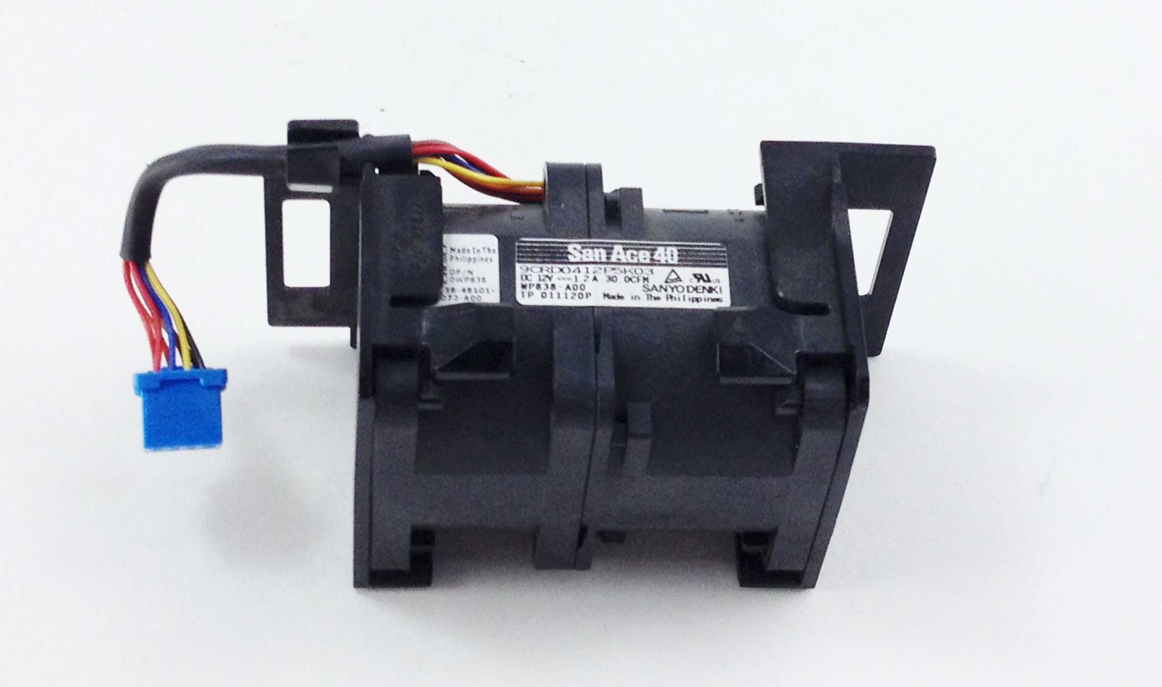 Dell PowerEdge R410 R610 Powervault Fan Assembly (WP838)