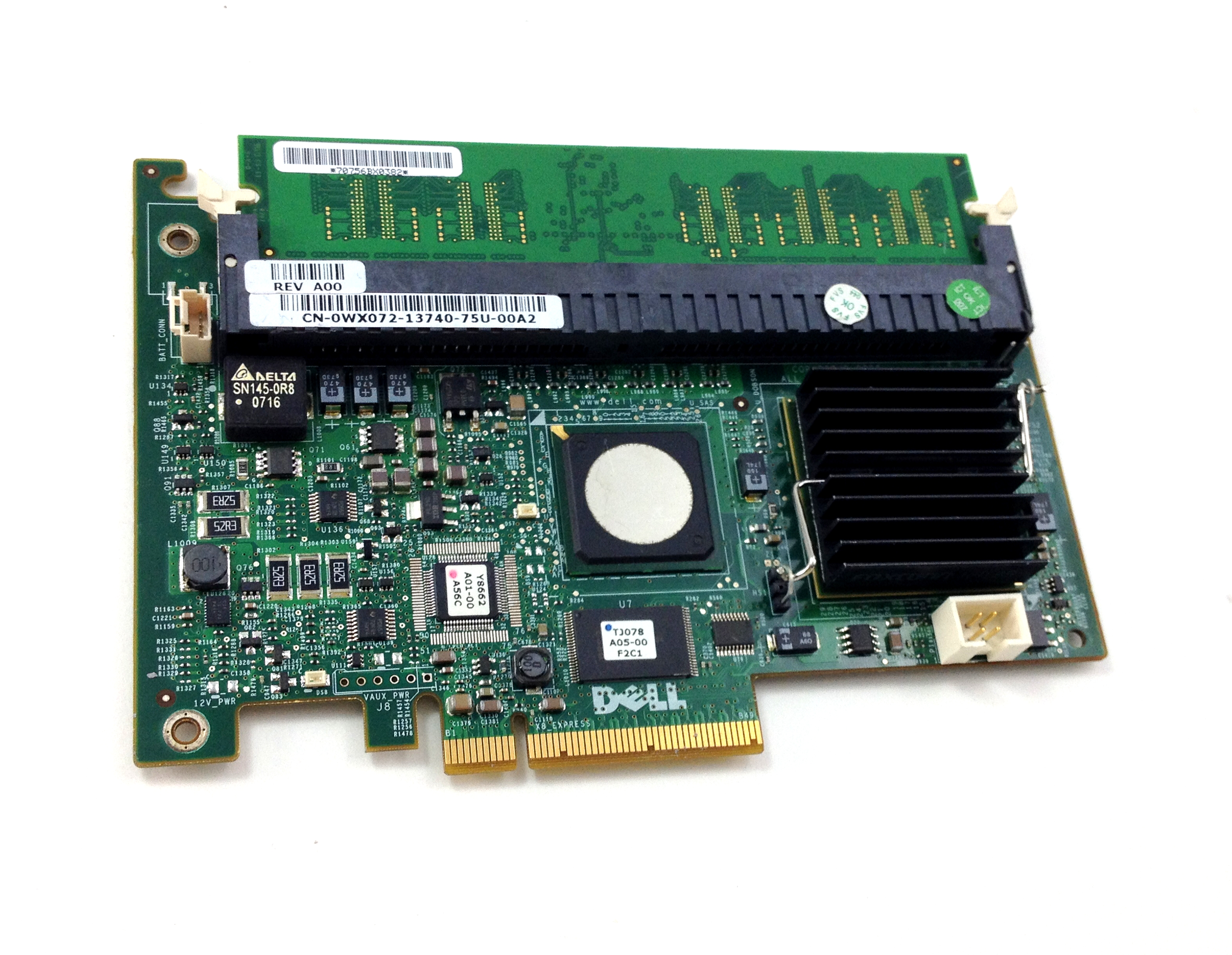 Dell PowerEdge 1950/2950 PERC 256MB PCI-E Raid Controller (WX072)