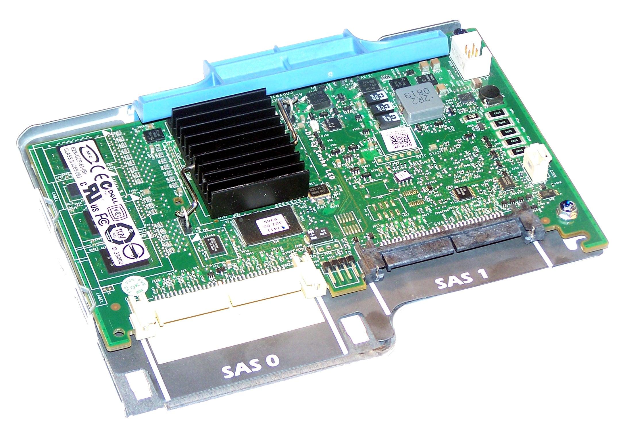 Dell PERC 6/I  R710/R610 SAS Raid Controller + Tray (WY335)