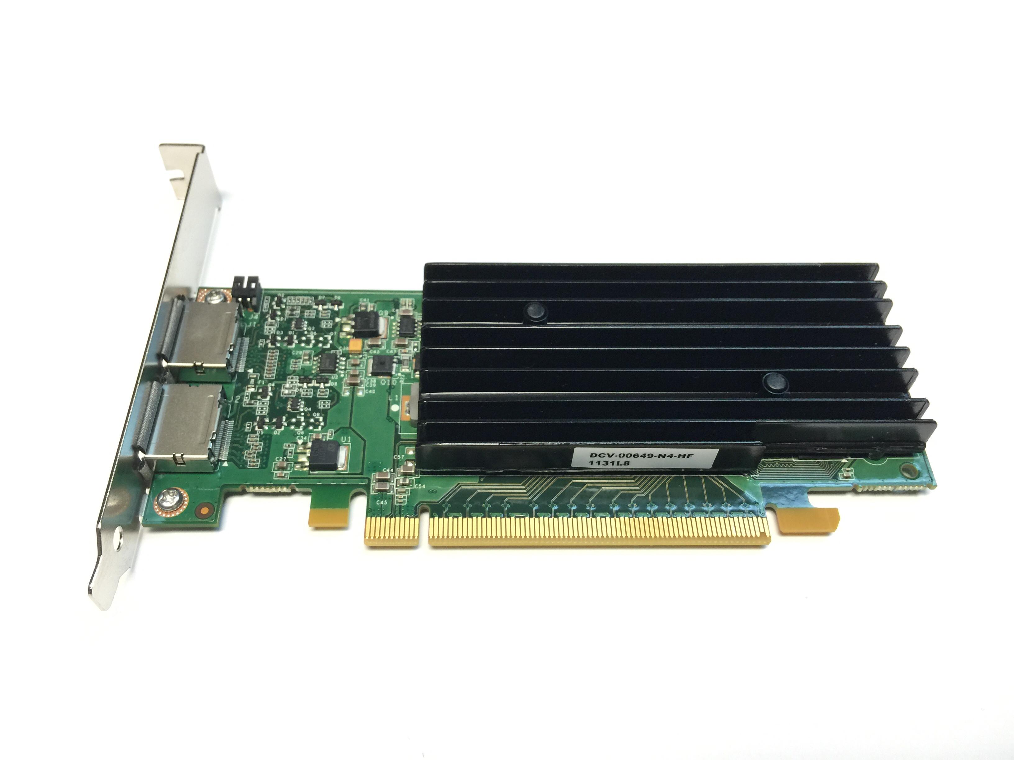 DELL NVIDIA QUADRO NVS 295 256MB PCI-E VIDEO CARD (X175K)