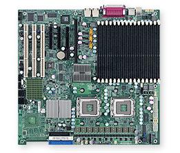 Dual LGA771 Xeon Intel 5000/5200/5100/ P/Pcix/2Gbe/EATX Server Motherboard (X7DBE+)