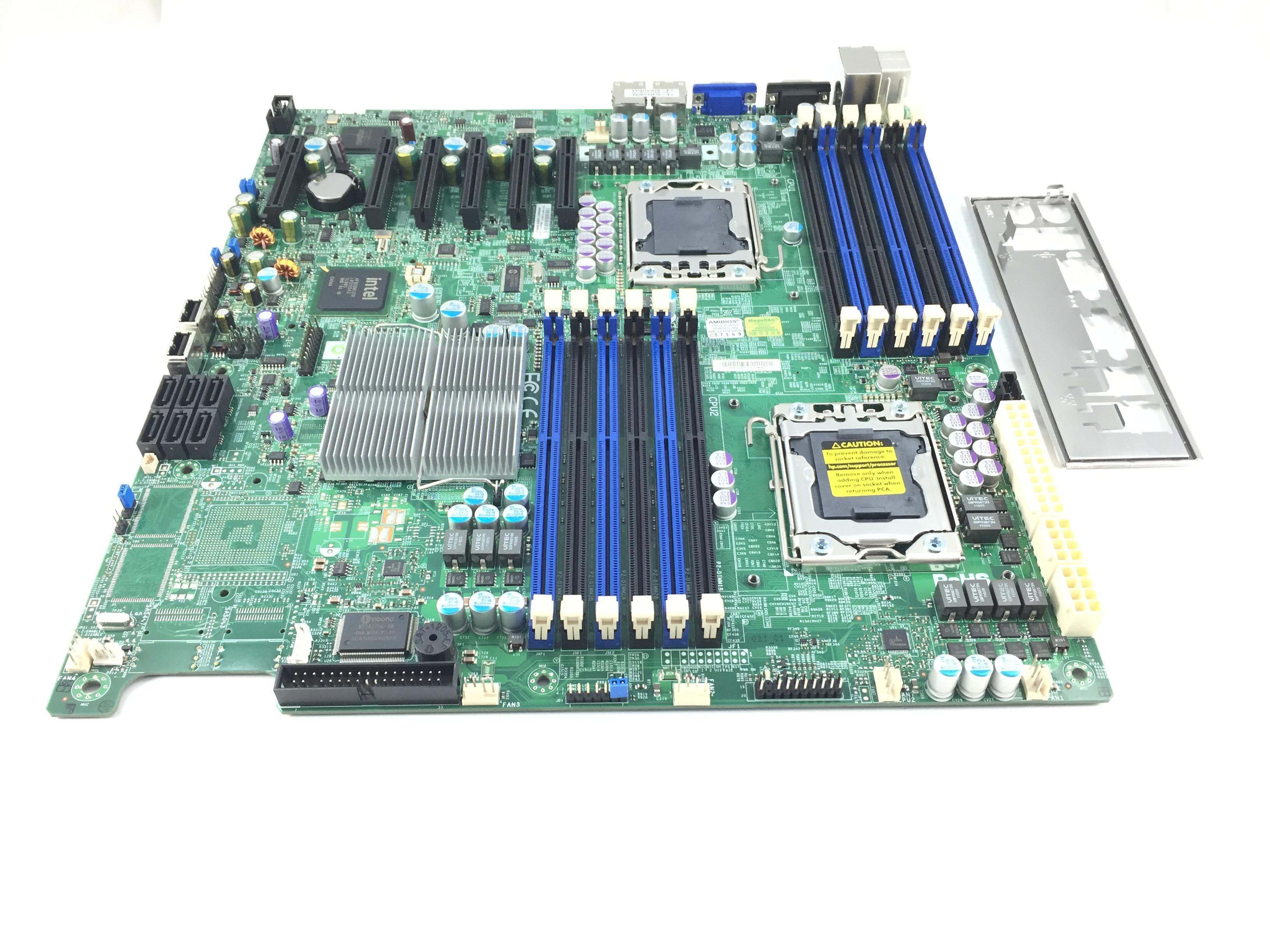 Supermicro Dual LGA1366 ATX Server System Board (X8DTE-F)
