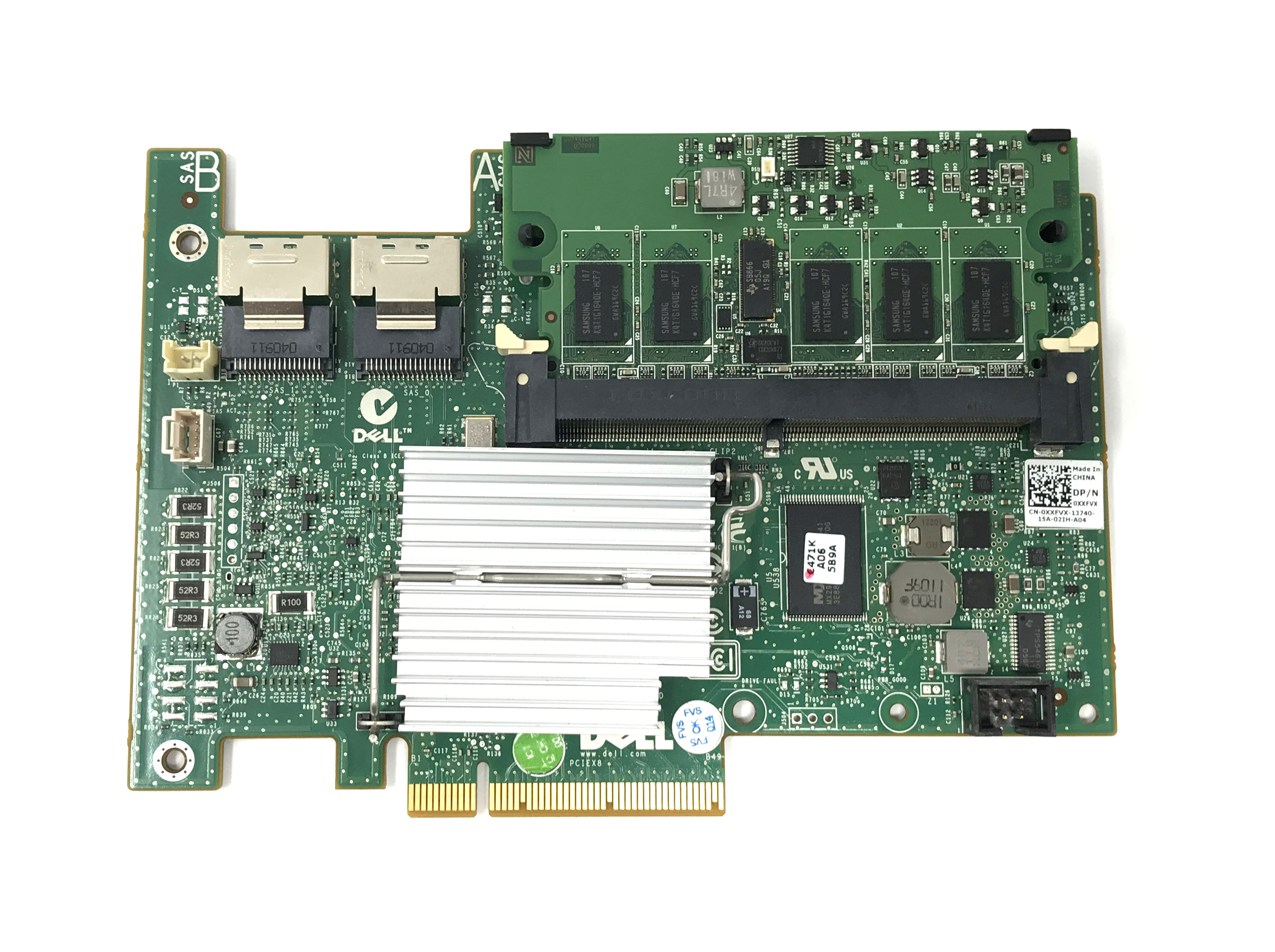 XXFVX DELL PERC H700 512MB CACHE INTEGRATED RAID CONTROLLER (XXFVX)