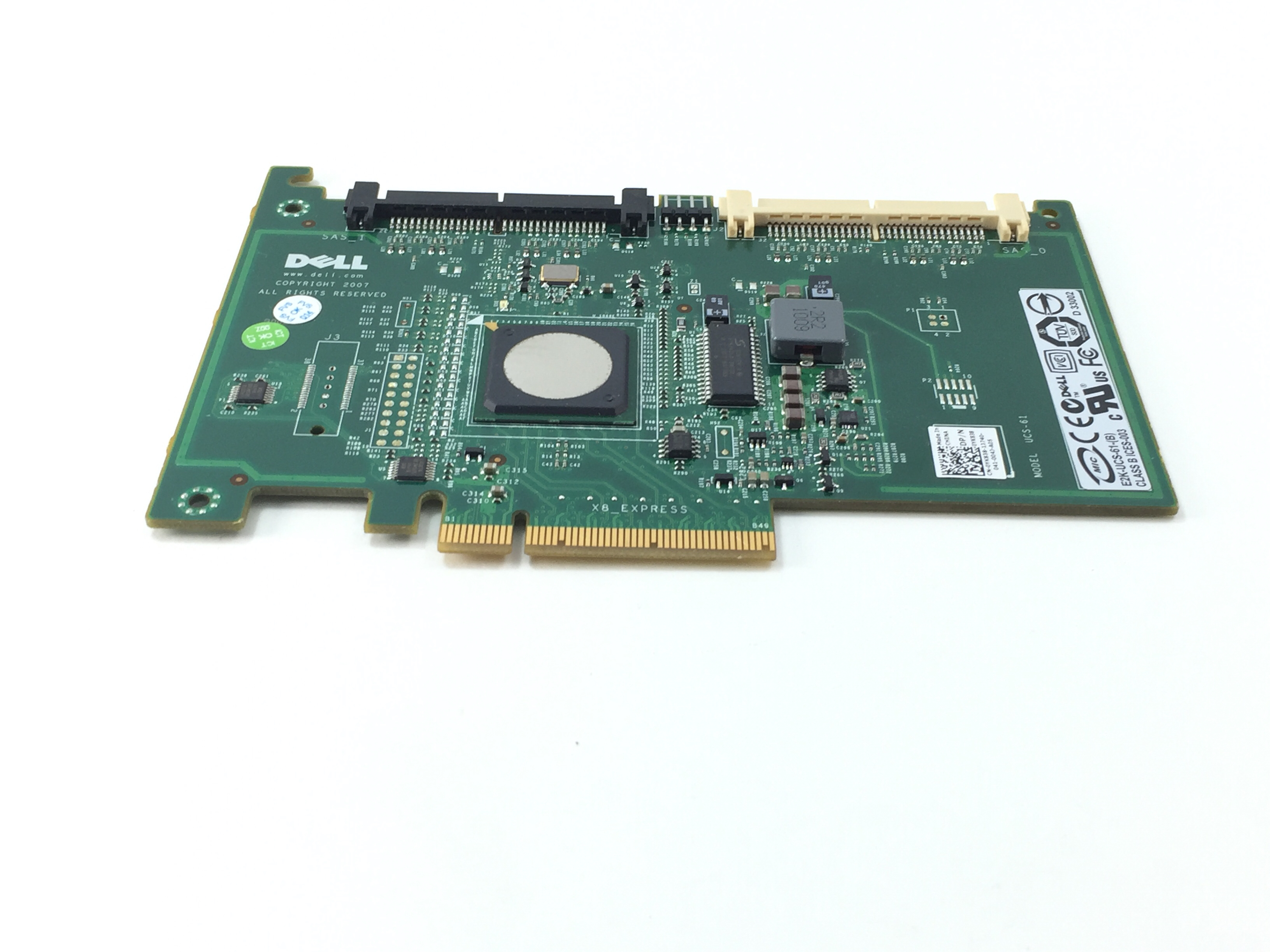 Dell PowerEdge  6I/R SAS/SATA Raid Controller (YK838)