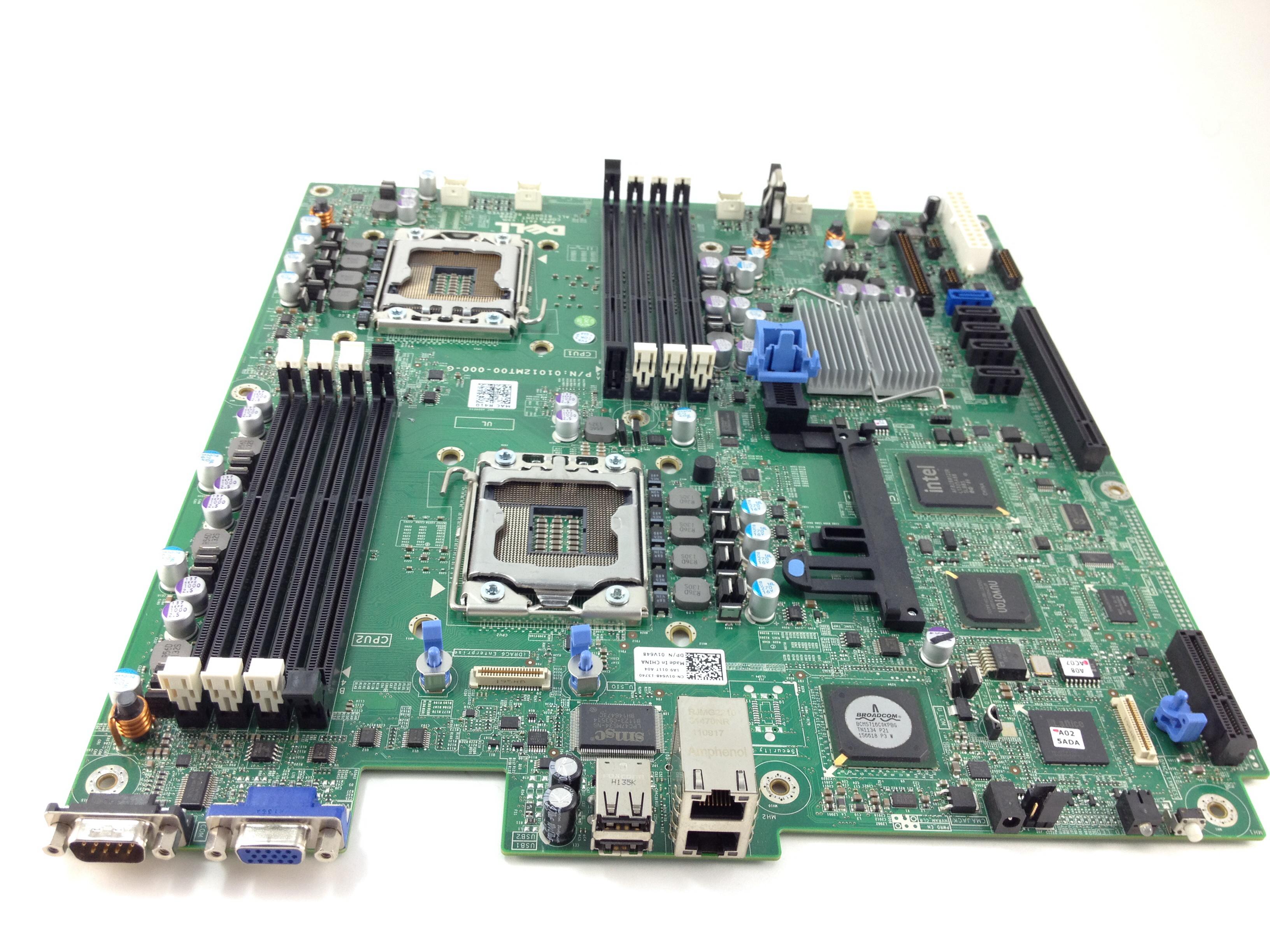 Dell PowerEdge R410 Gen Ii Dual Socket System Board (1V648)