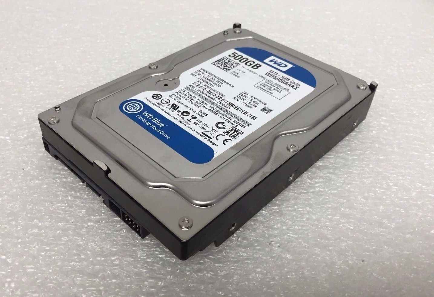 DELL WD BLUE WD5000AAKX 500GB 7.2K 32MB CACHE SATA 6.0GB/S 3.5'' HDD (1WR32)