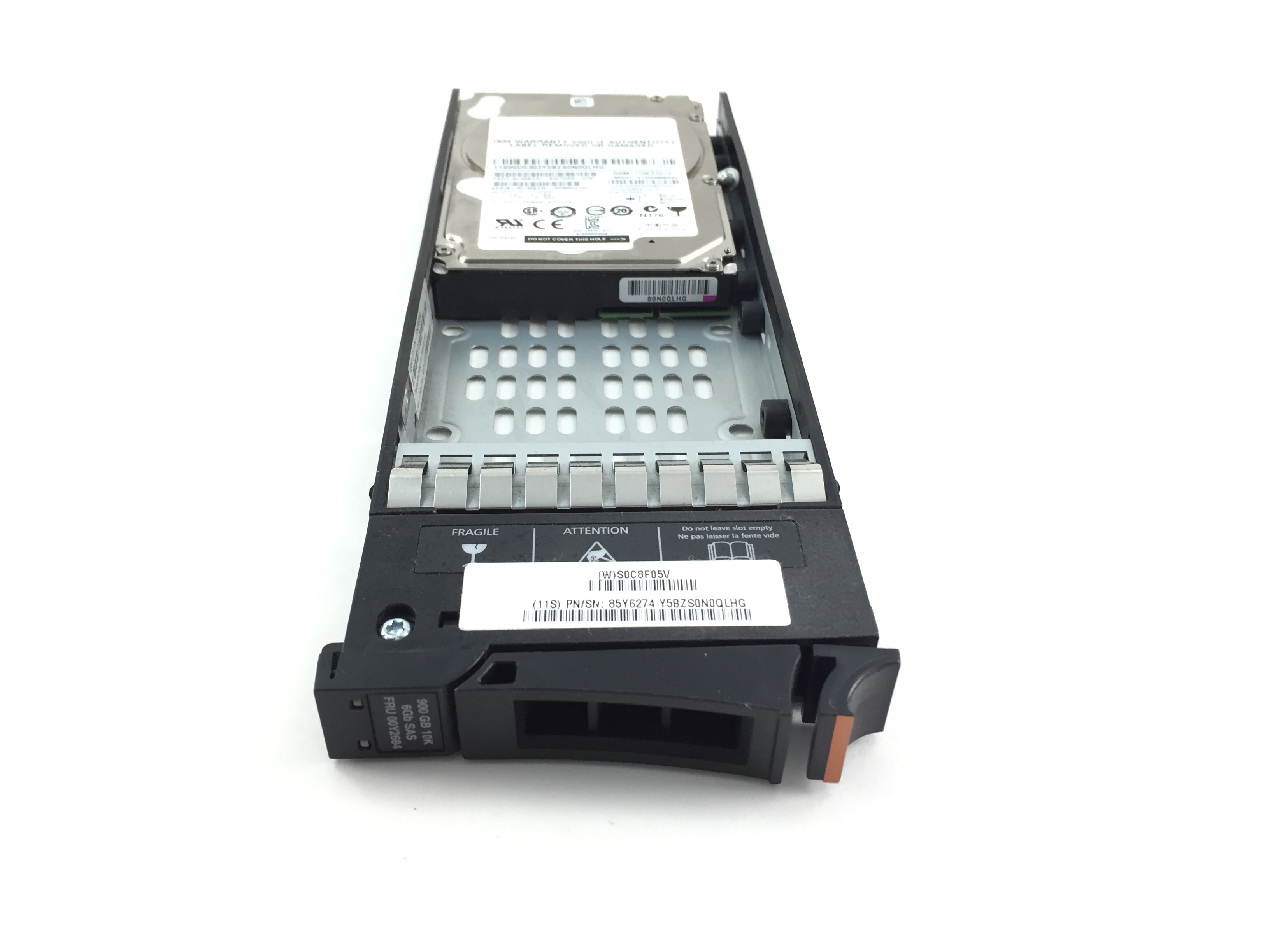 IBM 900GB 10K SAS 2.5'' HARD DRIVE. (00D5303)