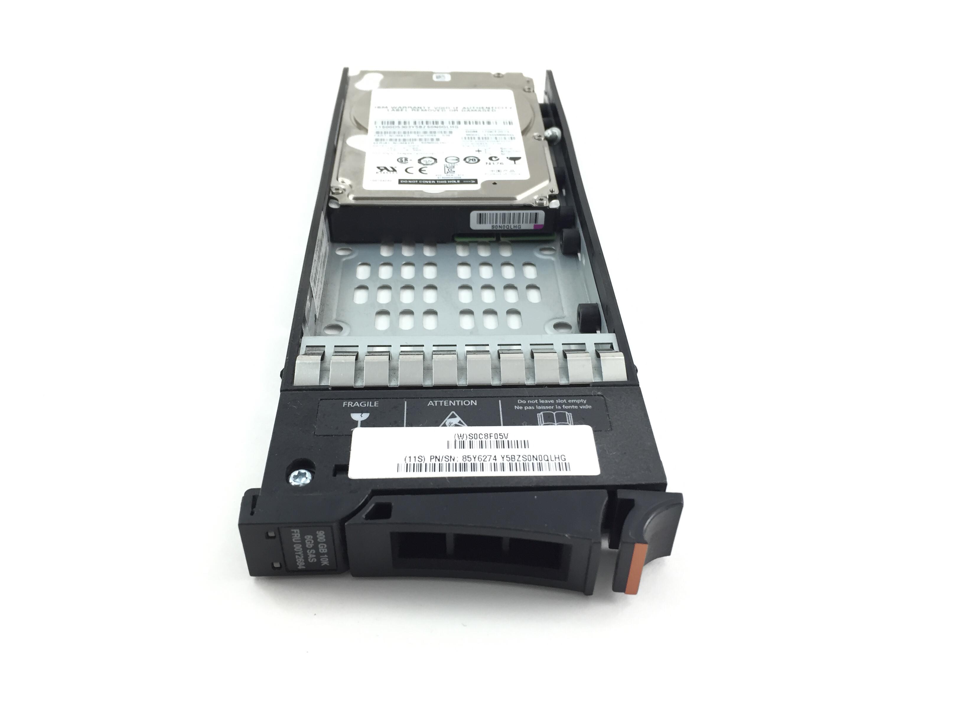 IBM 900GB 10K SAS 2.5'' HARD DRIVE. (00D5303)