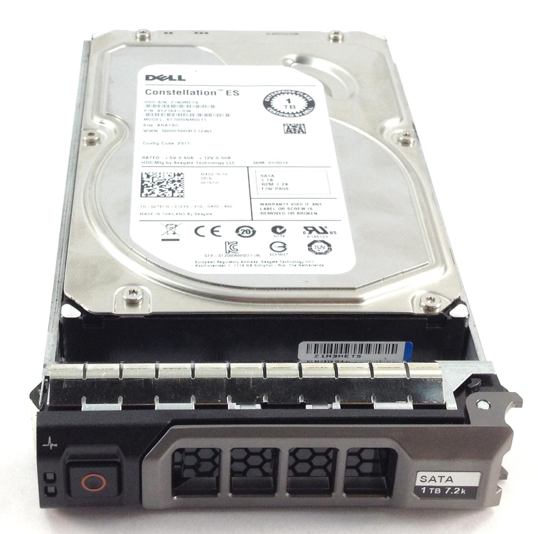 DELL 1TB 7.2K 6GBPS 64MB CACHE SATA 3.5'' HARD DRIVE (2T51W)