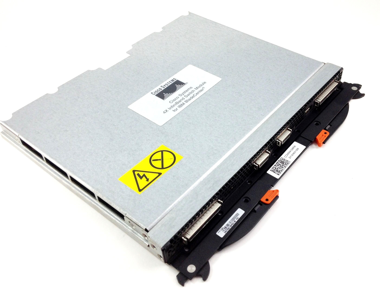 IBM Cisco Bladecenter 4 X Infiniband Switch Module (32R1756)
