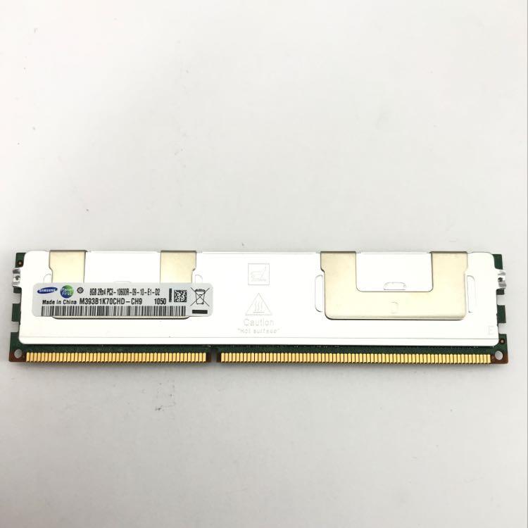 Samsung 8GB 2Rx4 PC3-10600R DDR3 1333MHz  ECC REG Memory (M393B1K70CHD-CH9)