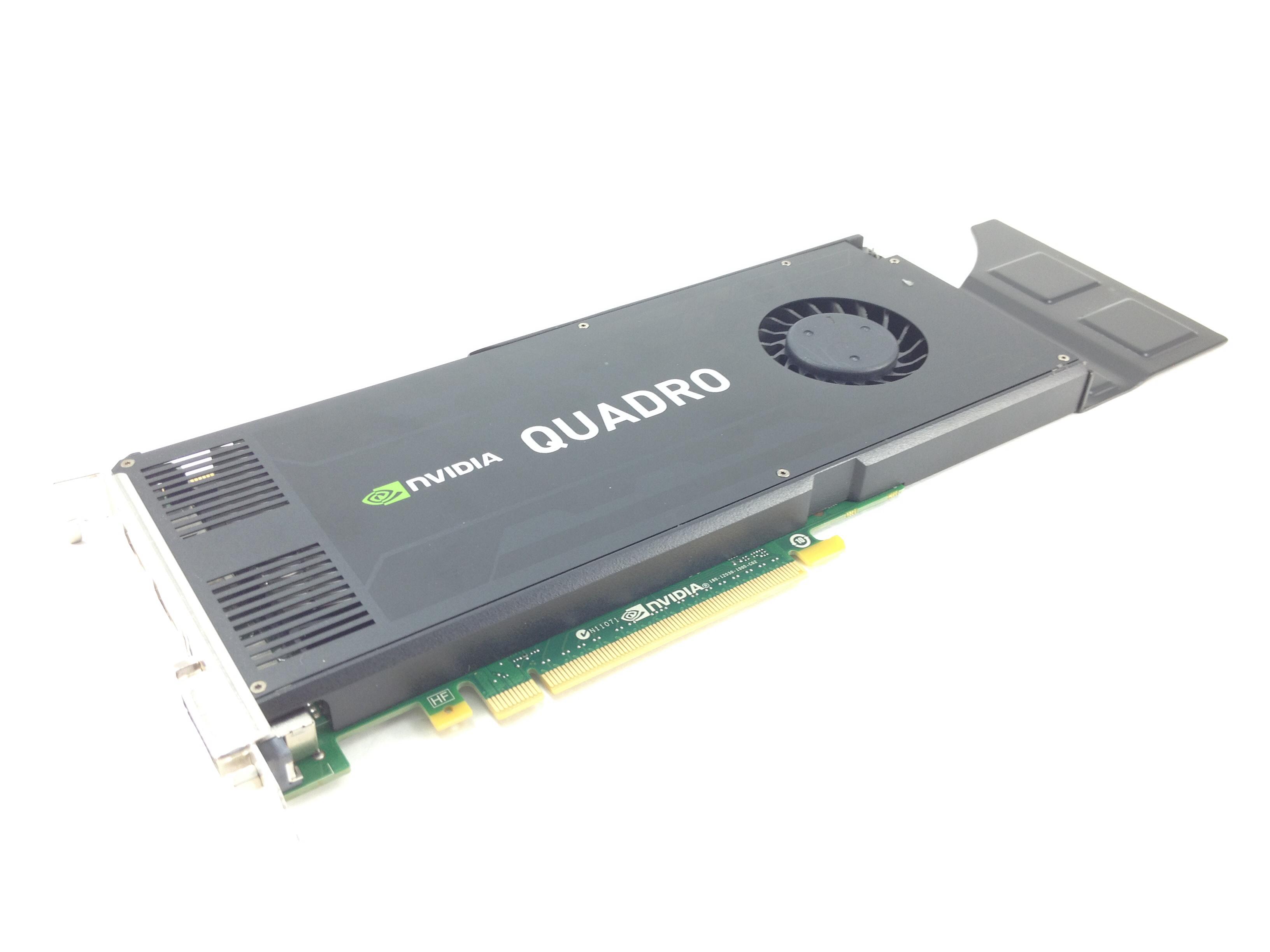 IBM NVIDIA Quadro K4000 3GB GDDR5 PCl-E 2.0 x16 Video Graphics Card (03T8312)