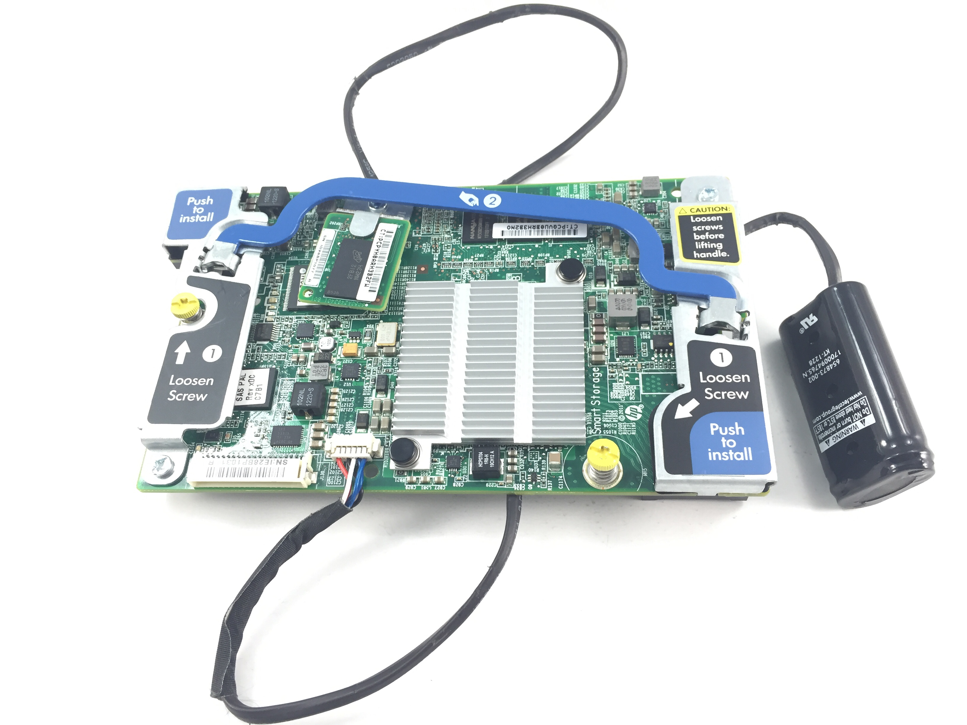 HP Smart Array P220i FBWC 512MB PCIe SAS Controller Kit (690164-B21)