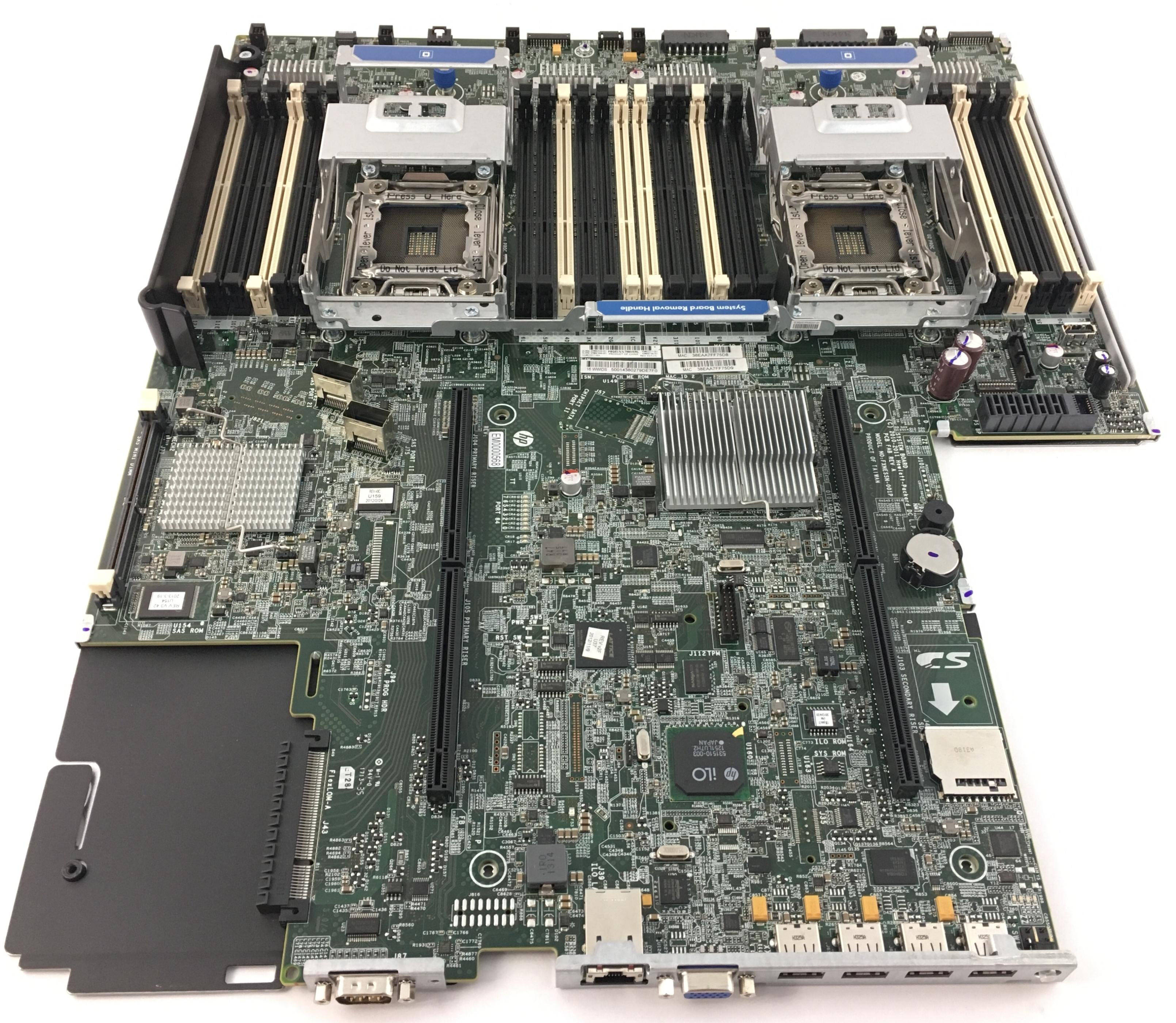 HP Proliant DL380P G8 System Board (662530-001)