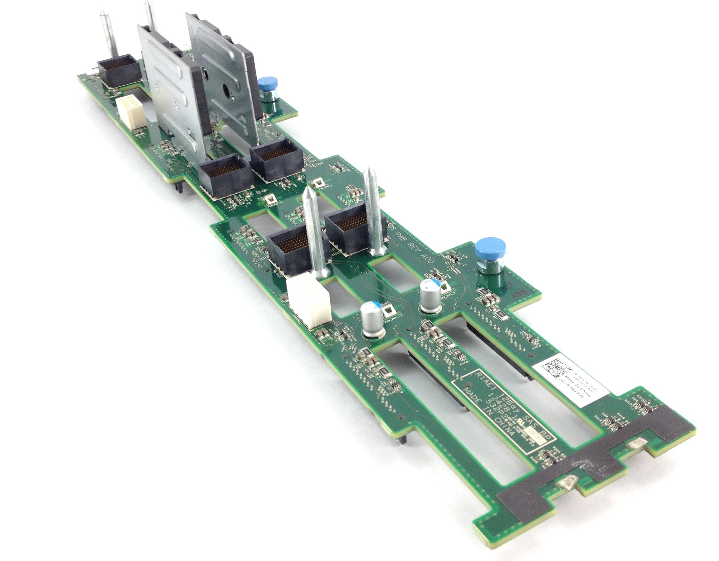Dell 12 Bays SAS Backplane For PowerEdge Vrtx Platform (6FY76)