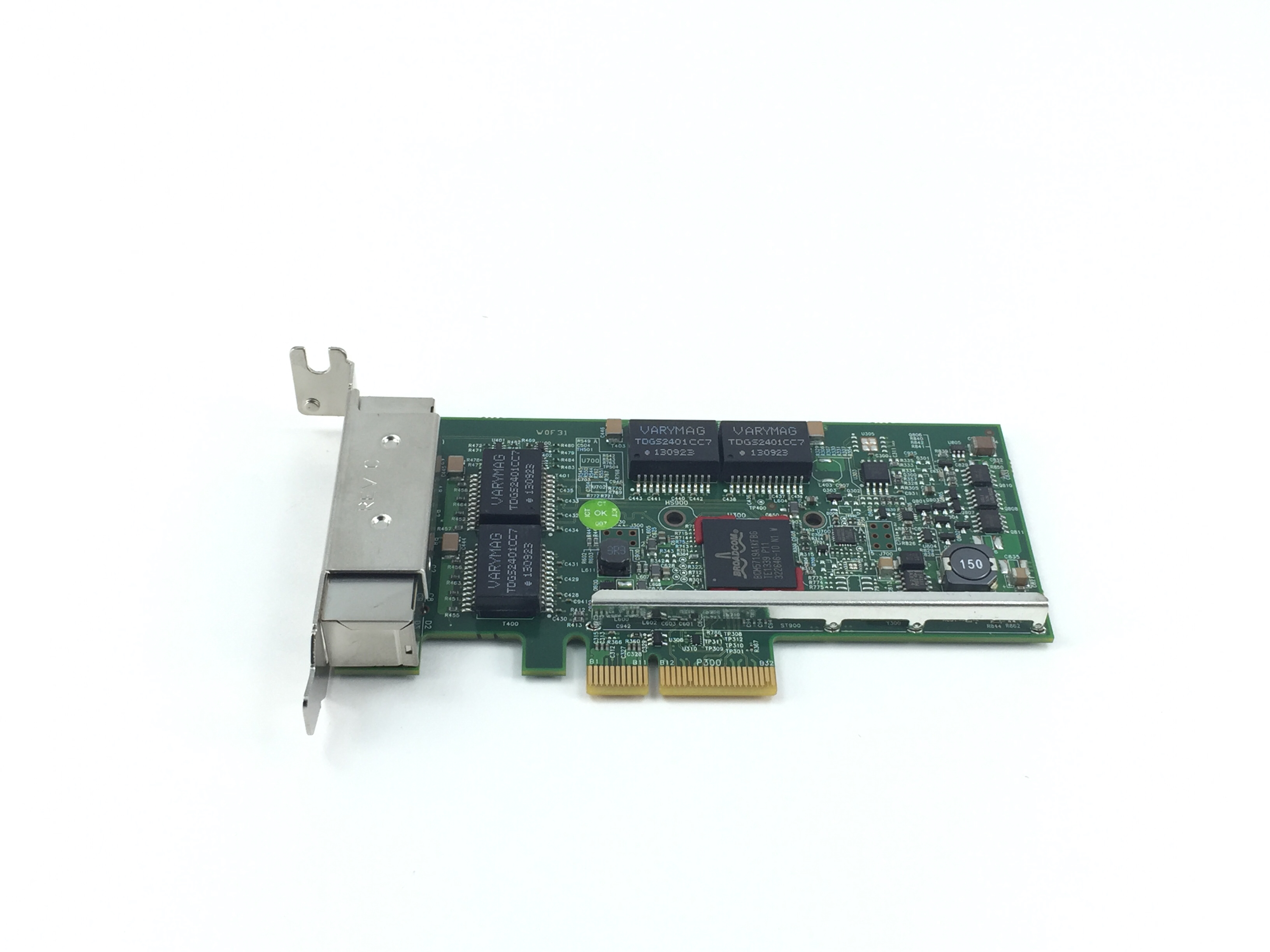 DELL BROADCOM 5719 1GB QUAD PORT  PCI-E NETWORK CARD W/ LOW PROFILE (TMGR6)