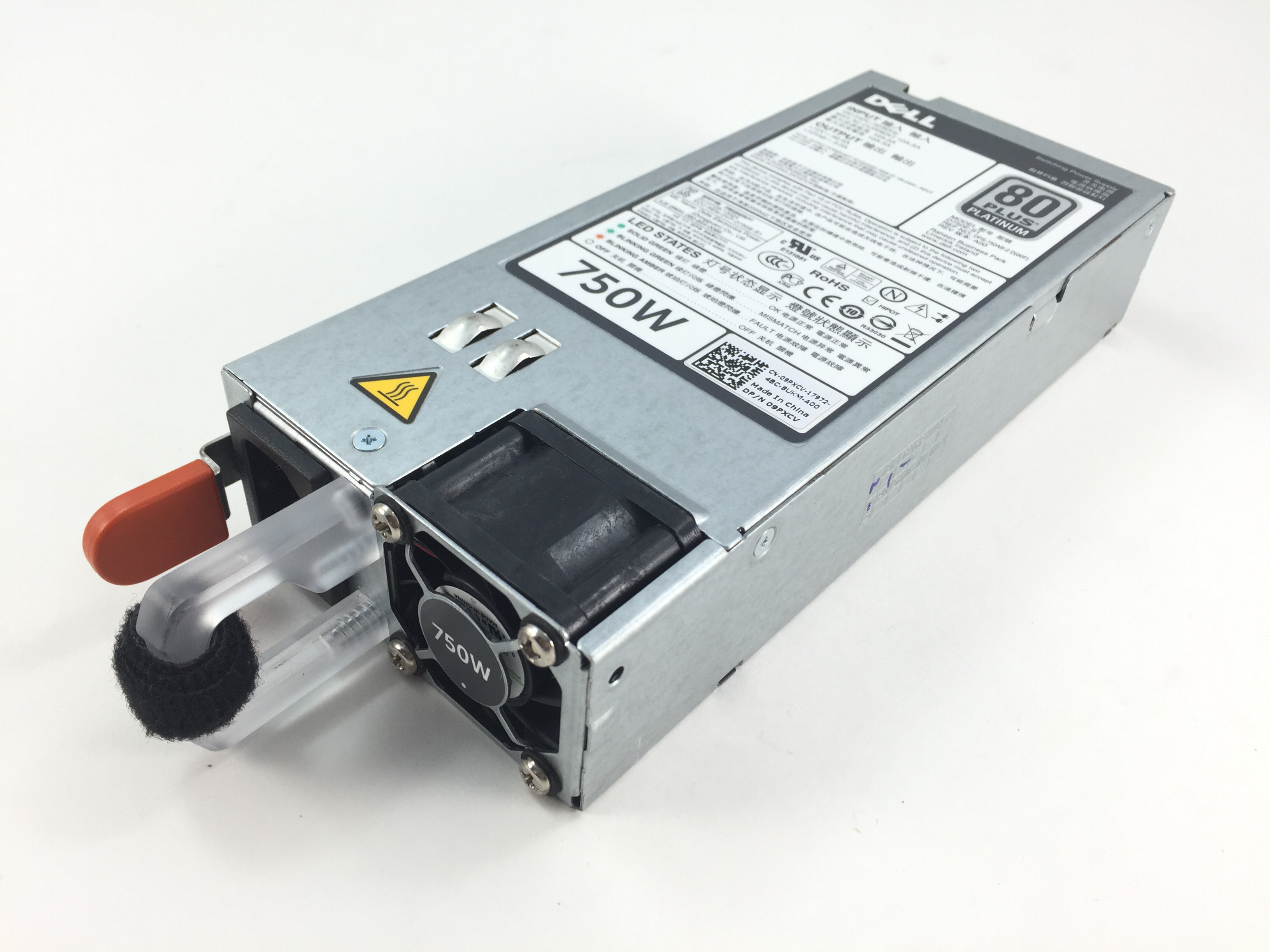 Dell PowerEdge R520 R620 R720 R720Xd 750W 80 Plus Platinum Power Supply (9PXCV)