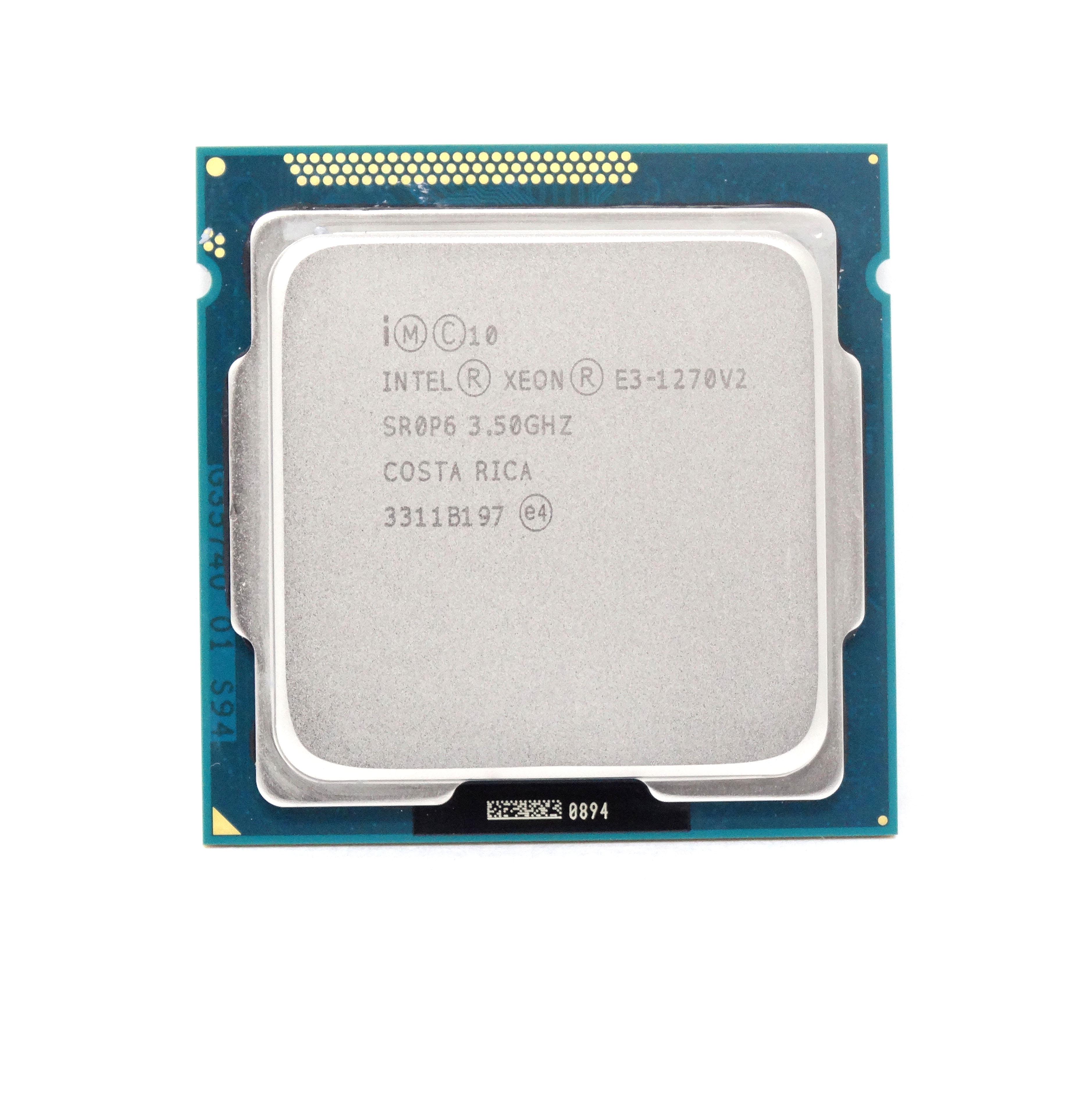 INTEL XEON E3-1270V2 QUAD CORE 3.5GHZ 8MB CACHE PROCESSOR (SR0P6)