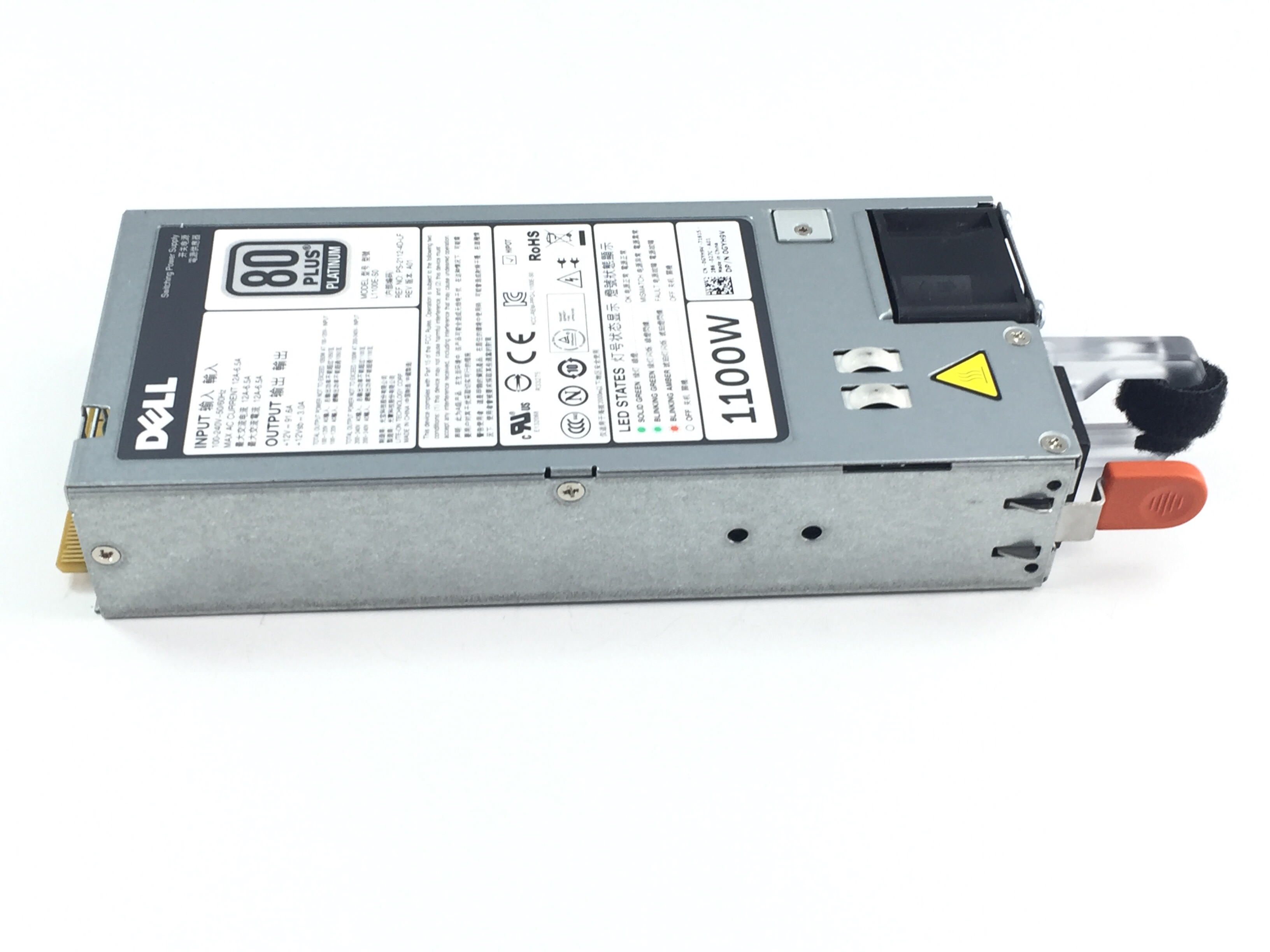 DELL 1100W POWER SUPPLY FOR POWERDEDGE R620 R720 (GYH9V)