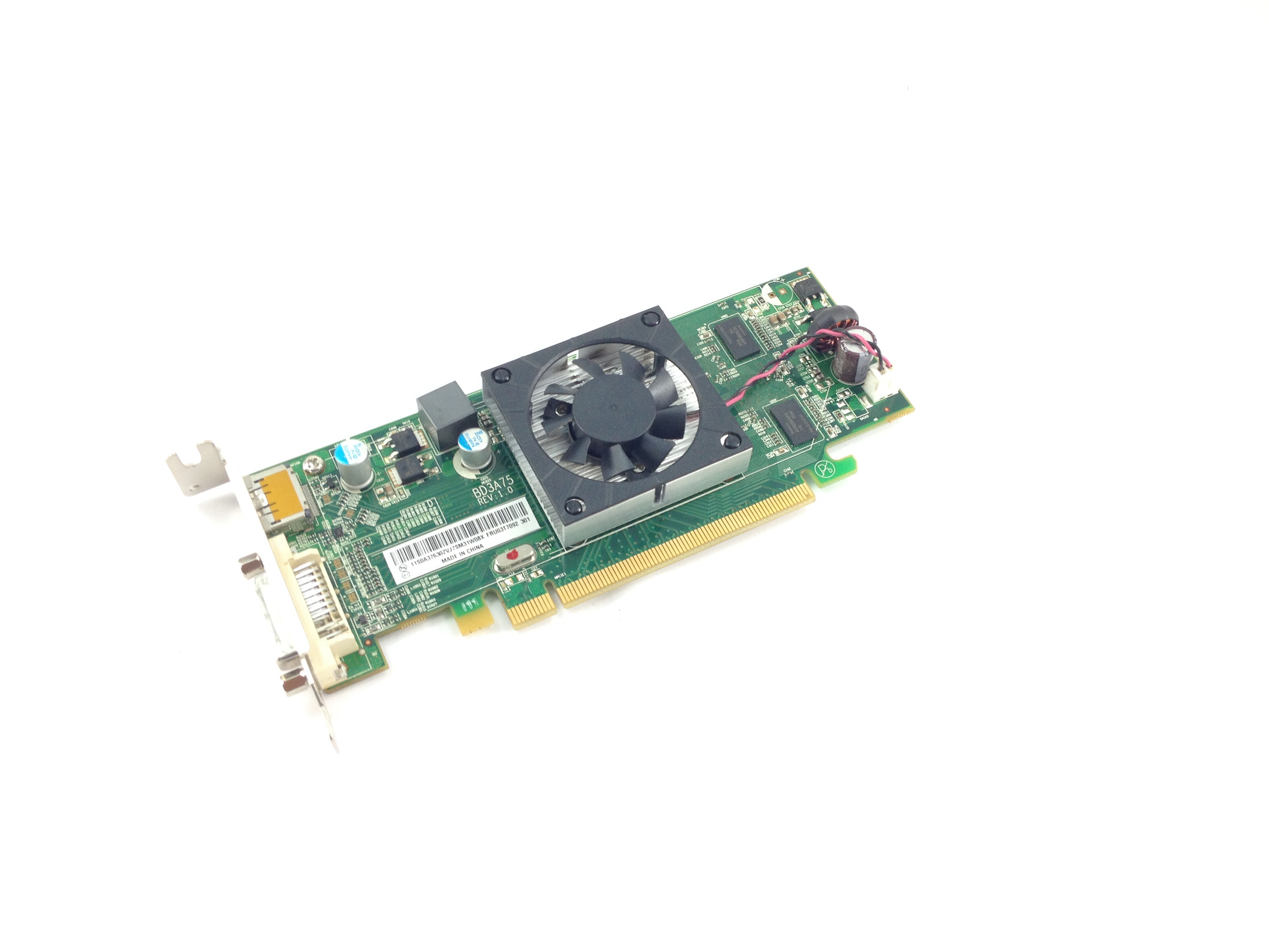 Lenovo ThinkCentre AMD Radeon Hd7450 1GB PCI-E Graphics Card (03T7092)