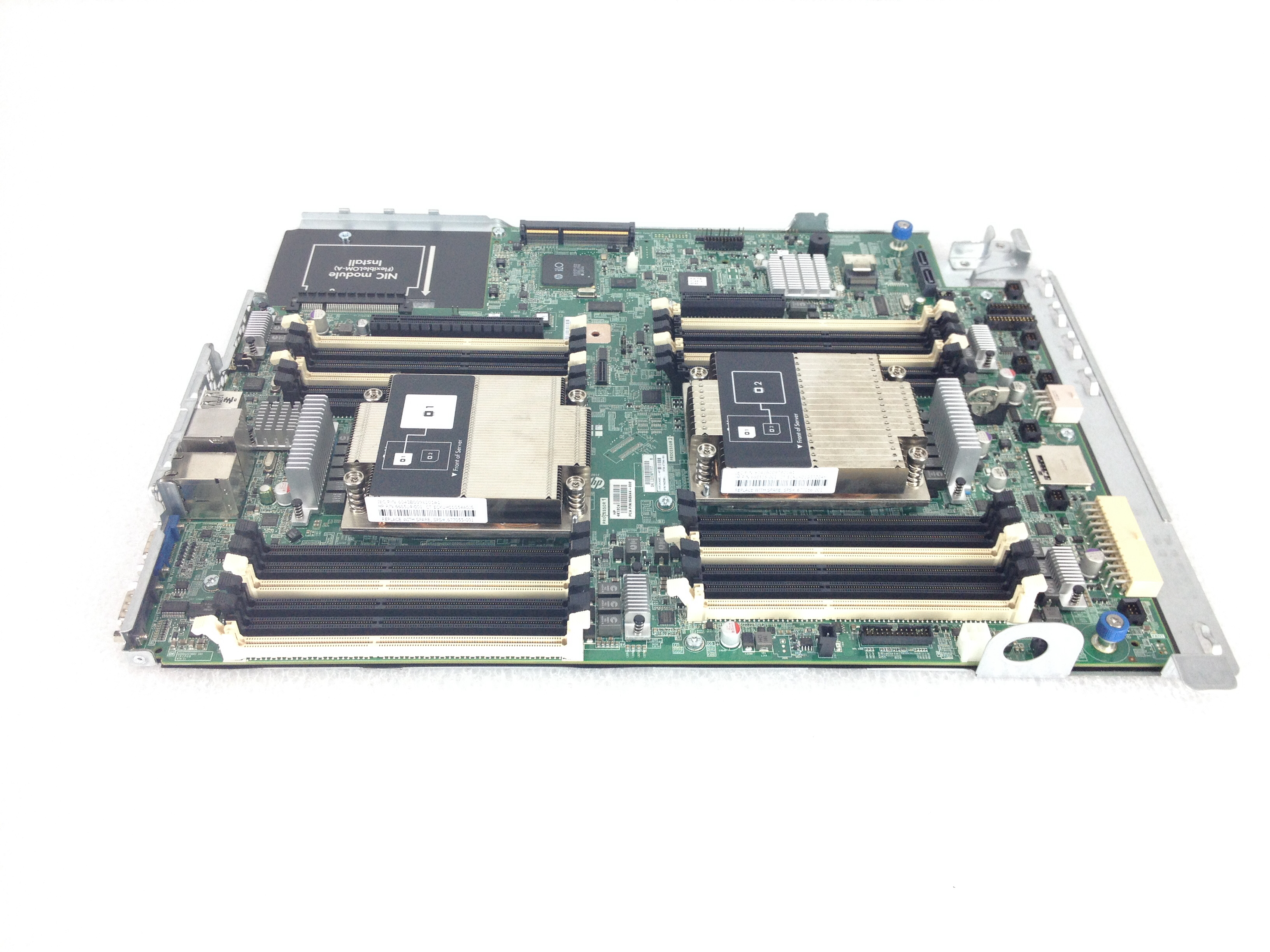 HP Proliant DL160 Gen8 Server System Board w/ Heatsink (677046-001)