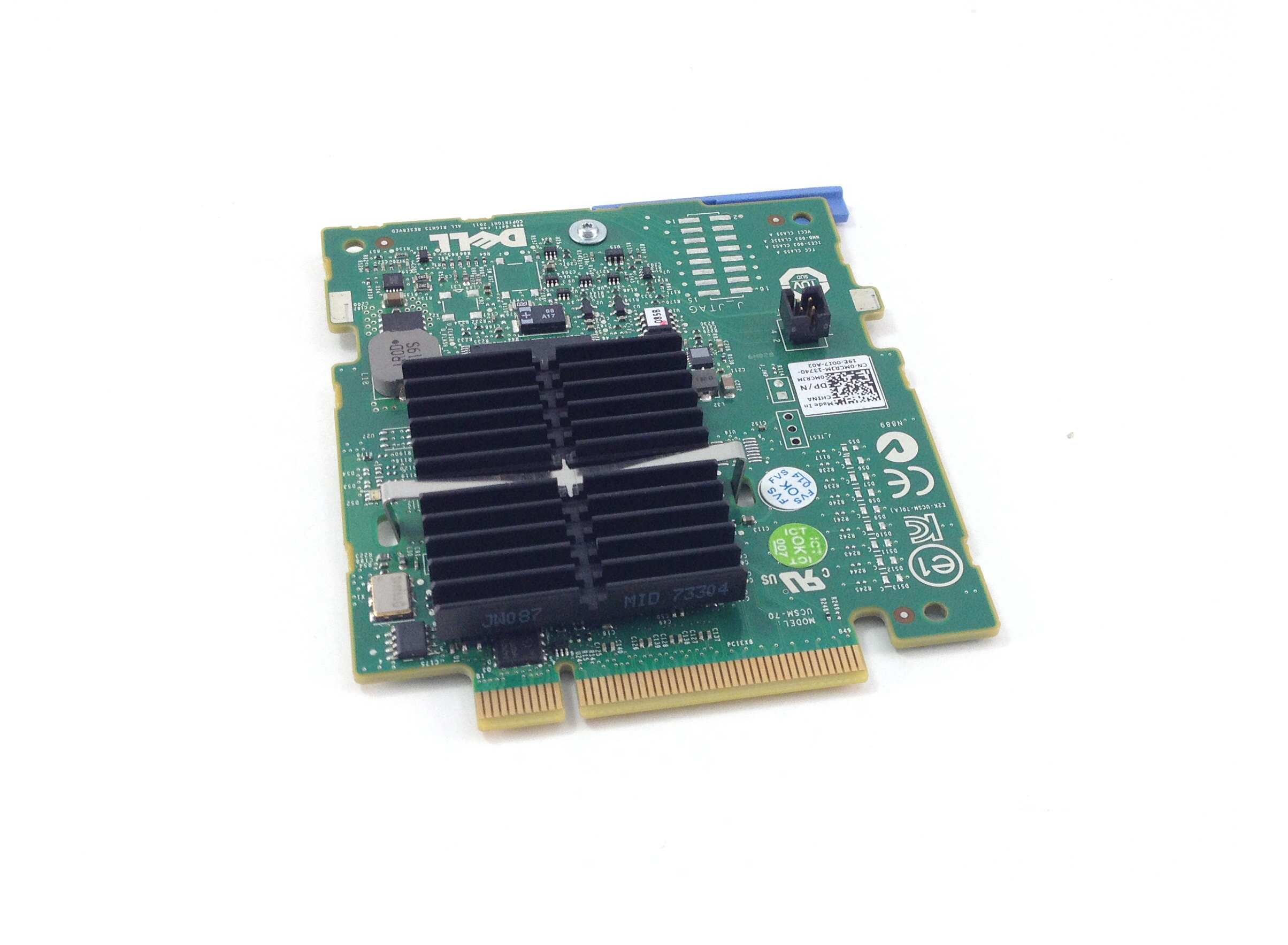 MCRJM Dell PERC H200 Raid Controller For PowerEdge M610/M610X/M910 (MCRJM)