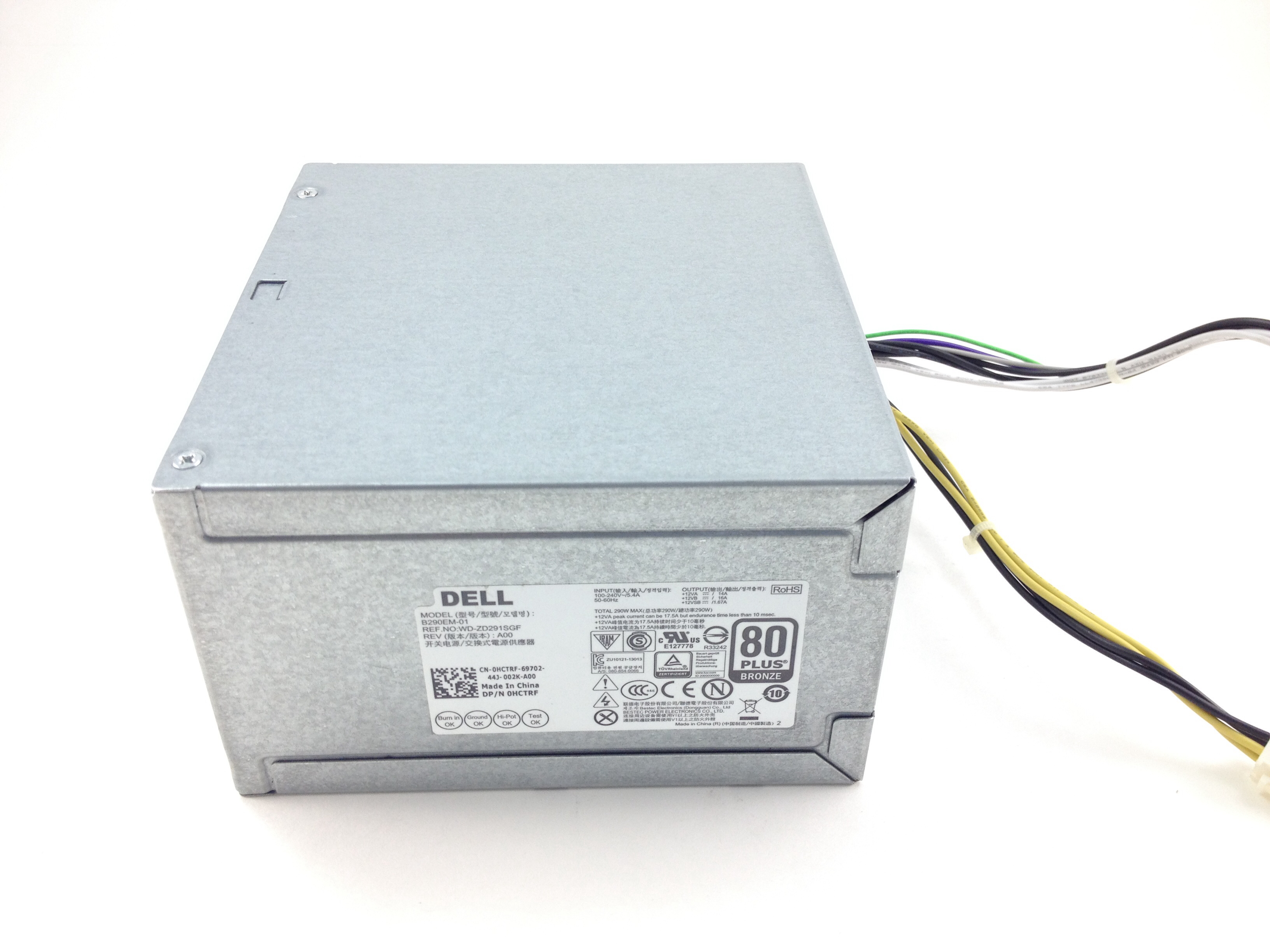 HCTRF Dell Optiplex 7020 9020 T1700 290W Power Supply (HCTRF)