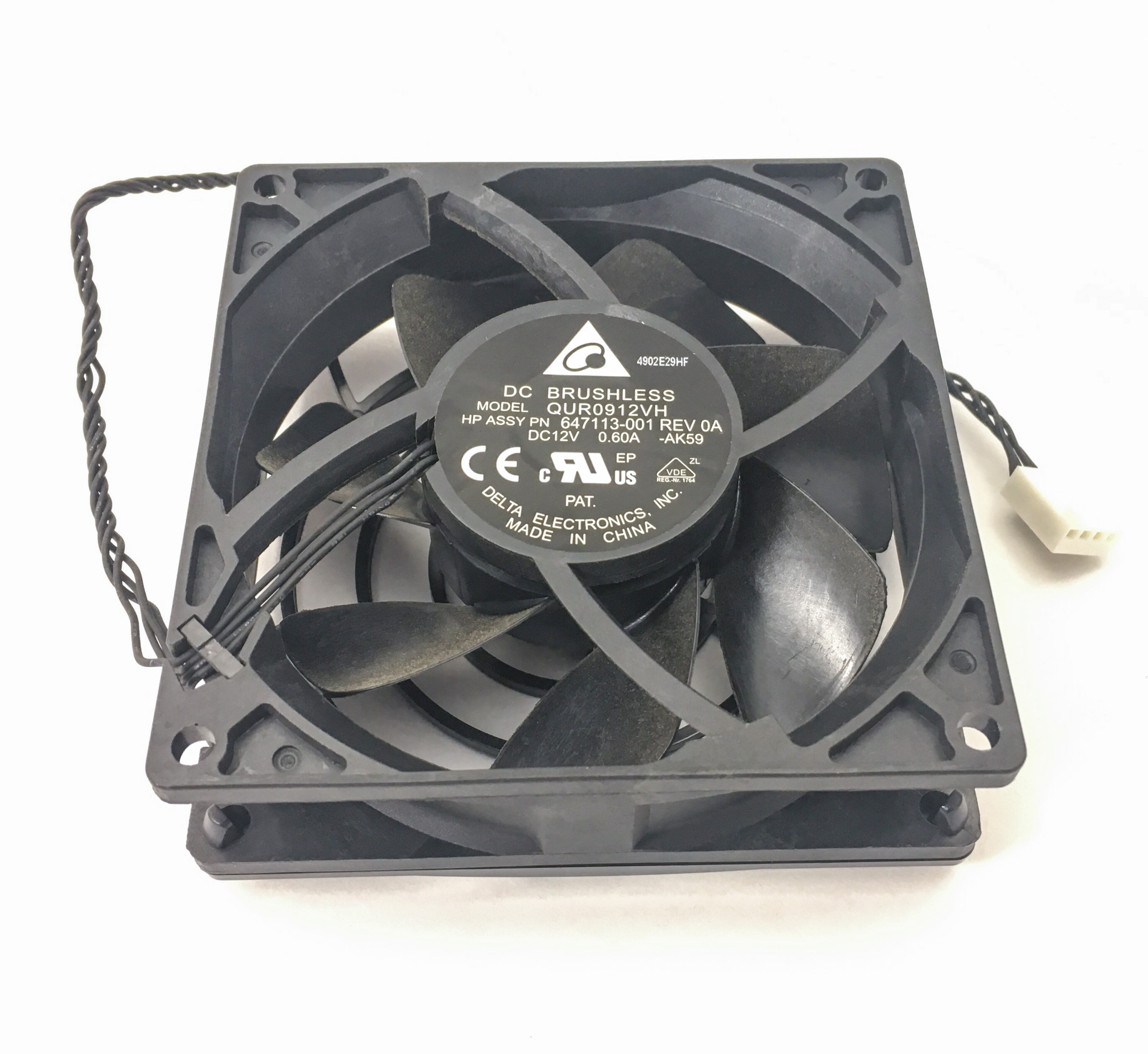 HP Z420 Z820 WorkStation Front Cooling Fan (647113-001)