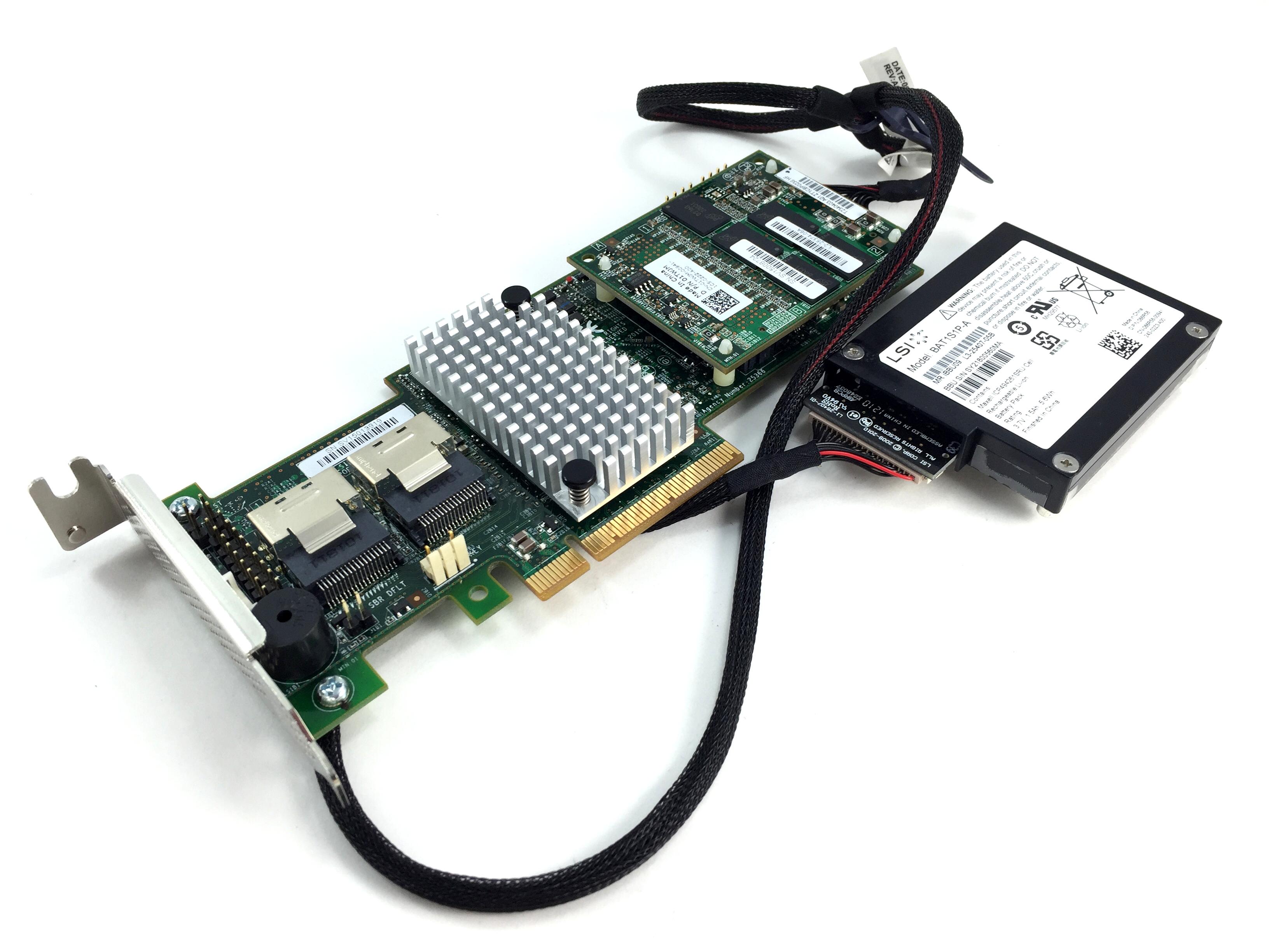 DELL LSI 9265-8I 6GBPS SAS/SATA RAID CONTROLLER. (070MJ8)