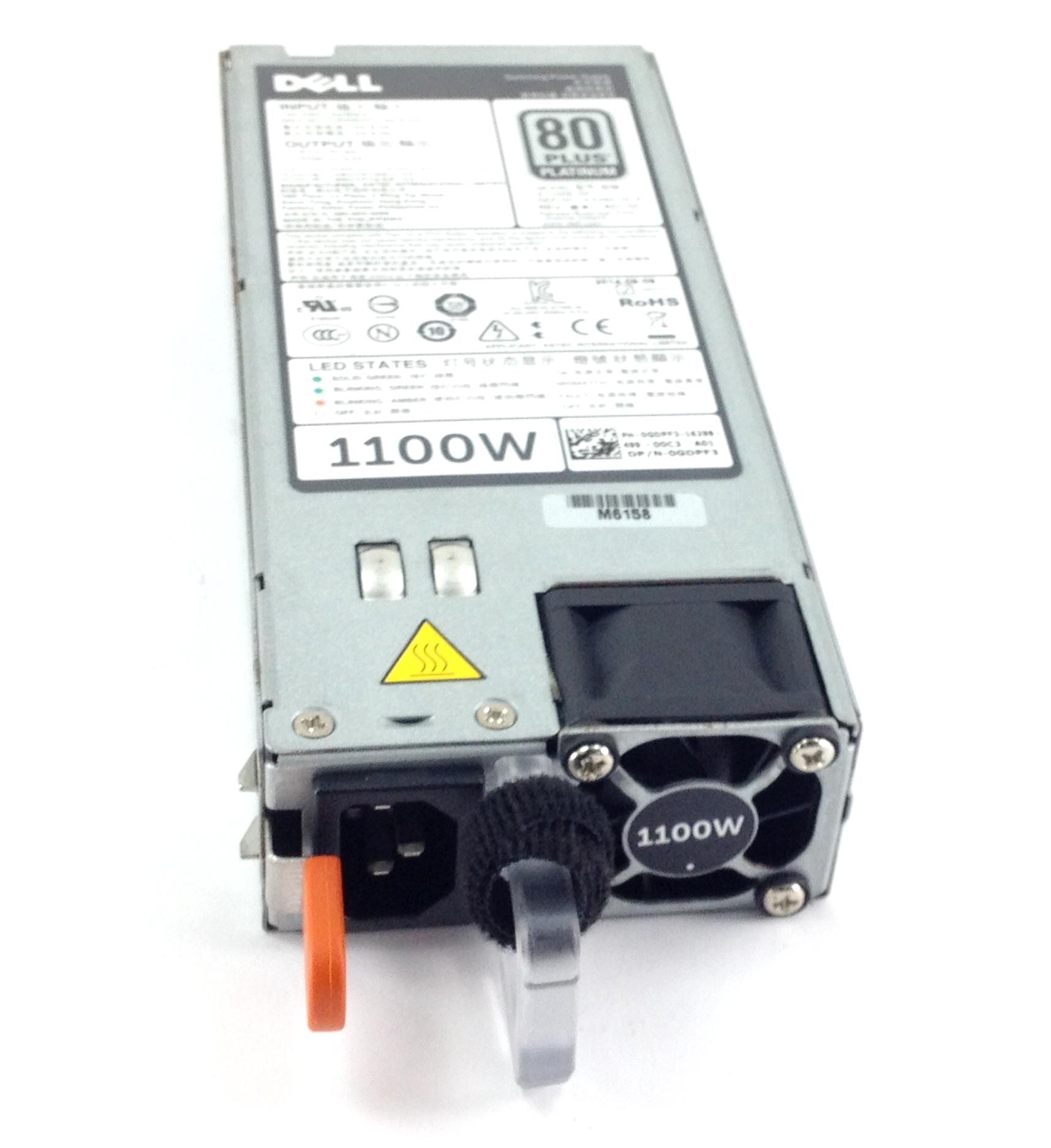 Dell PowerEdge 1100W R520 R620 R720 R720XD PSU Power Supply (GDPF3)