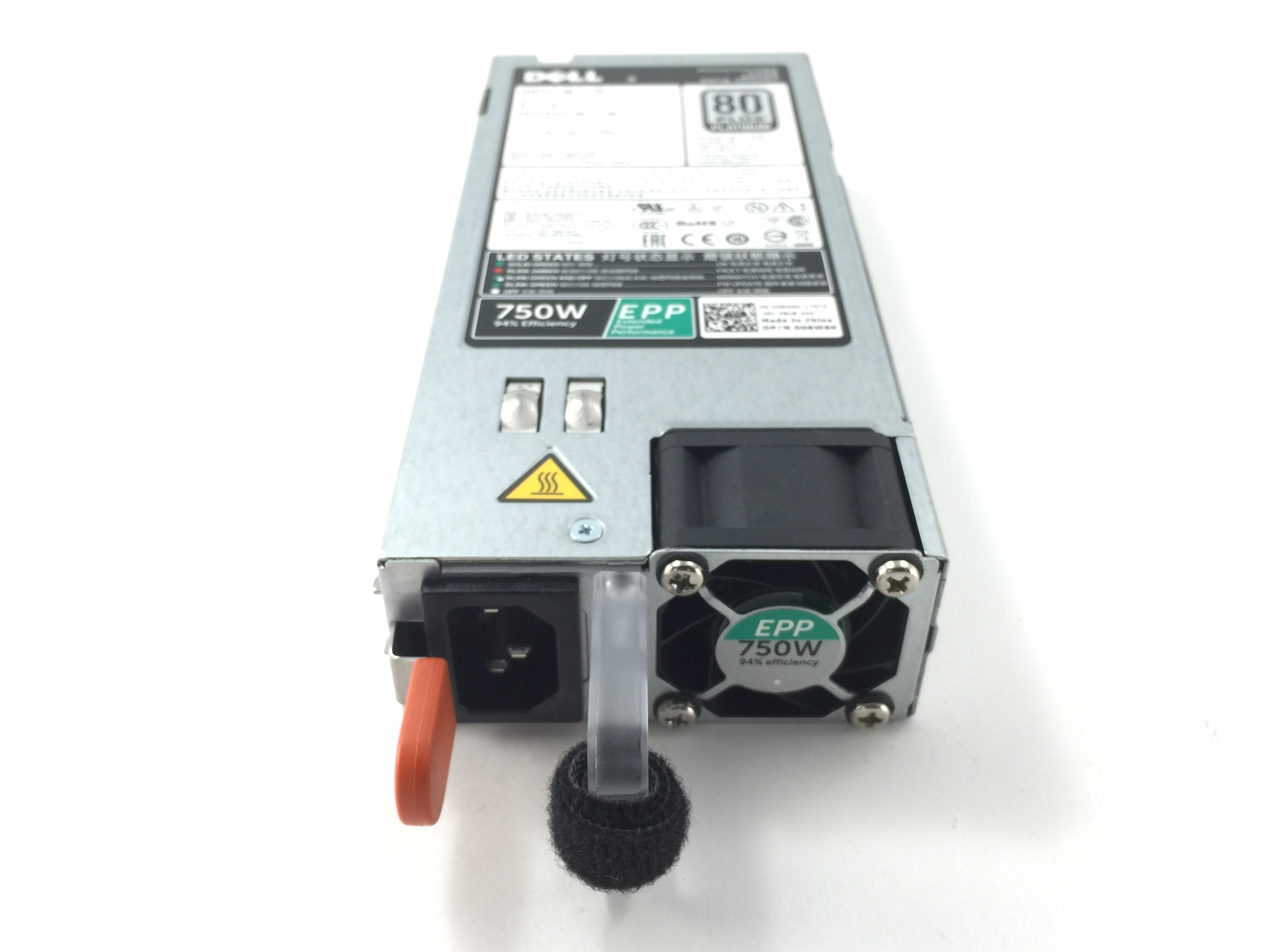 DELL POWEREDGE R630/R730/R730XD 750W 80 PLUS POWER SUPPLY (G6W6K)