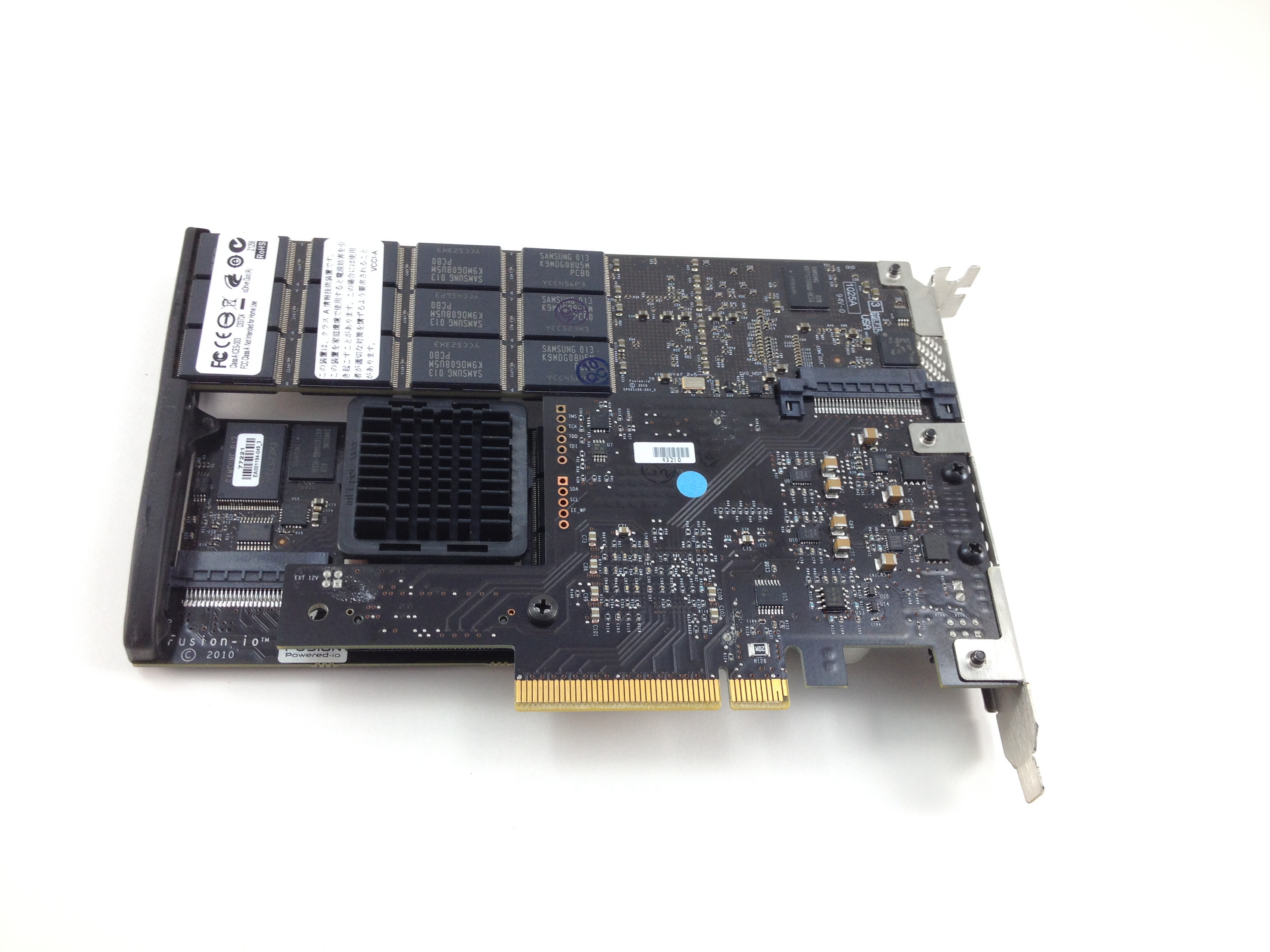 IBM Fusion Io 640GB High Iops MLC Duo Solid State Adapter For System X (68Y7382)
