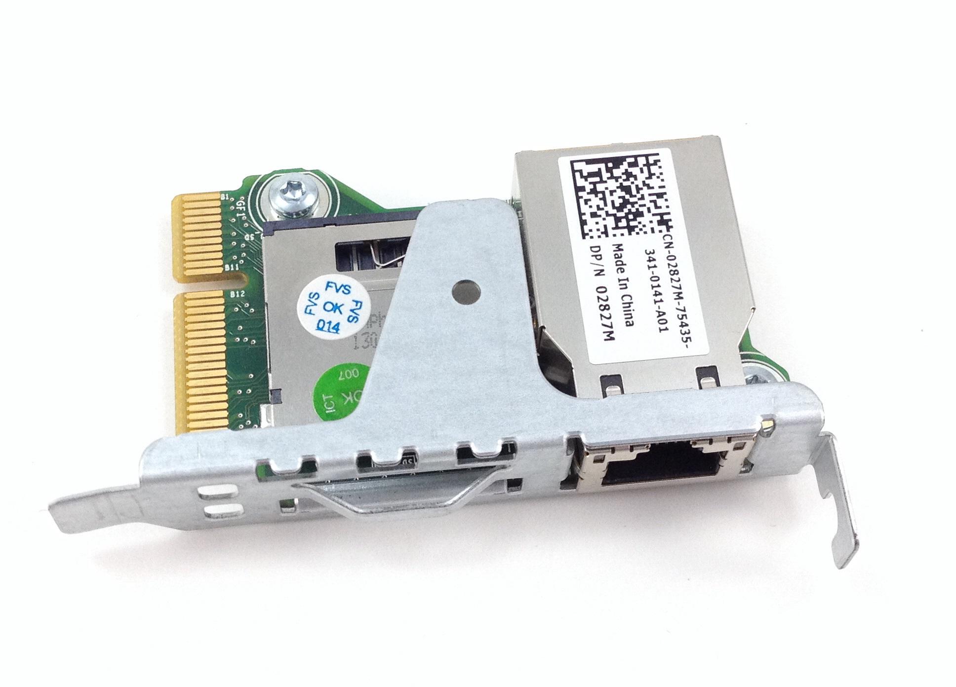 DELL IDRAC7 EXPRESS REMOTE ACCESS CARD FOR R320 R420 R520 R620 T320 T420  (02827M)