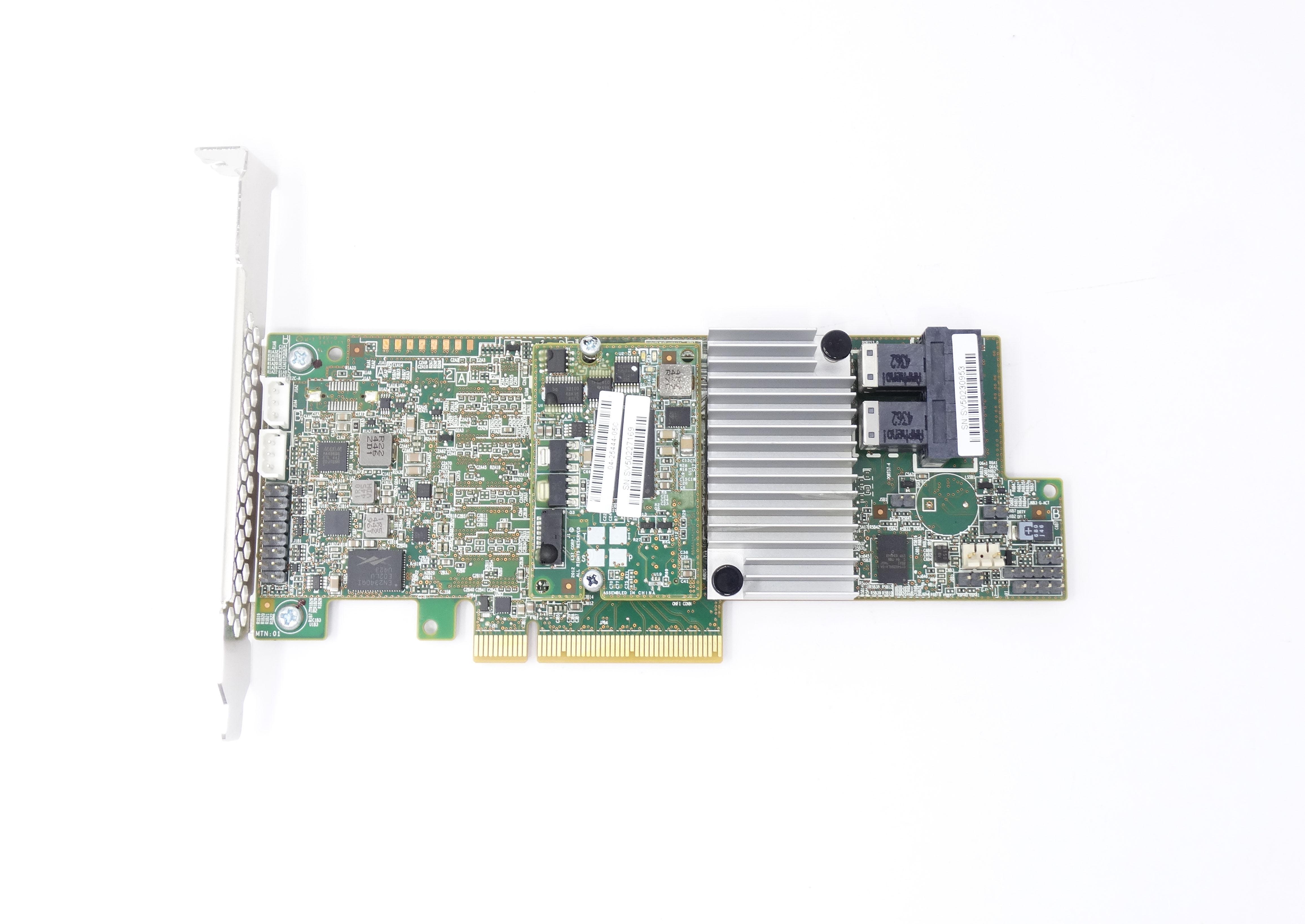 Dell Megaraid LSI 9361-8I Raid Controller 12Gb/s PCI-E 1GB Cache (MM445)
