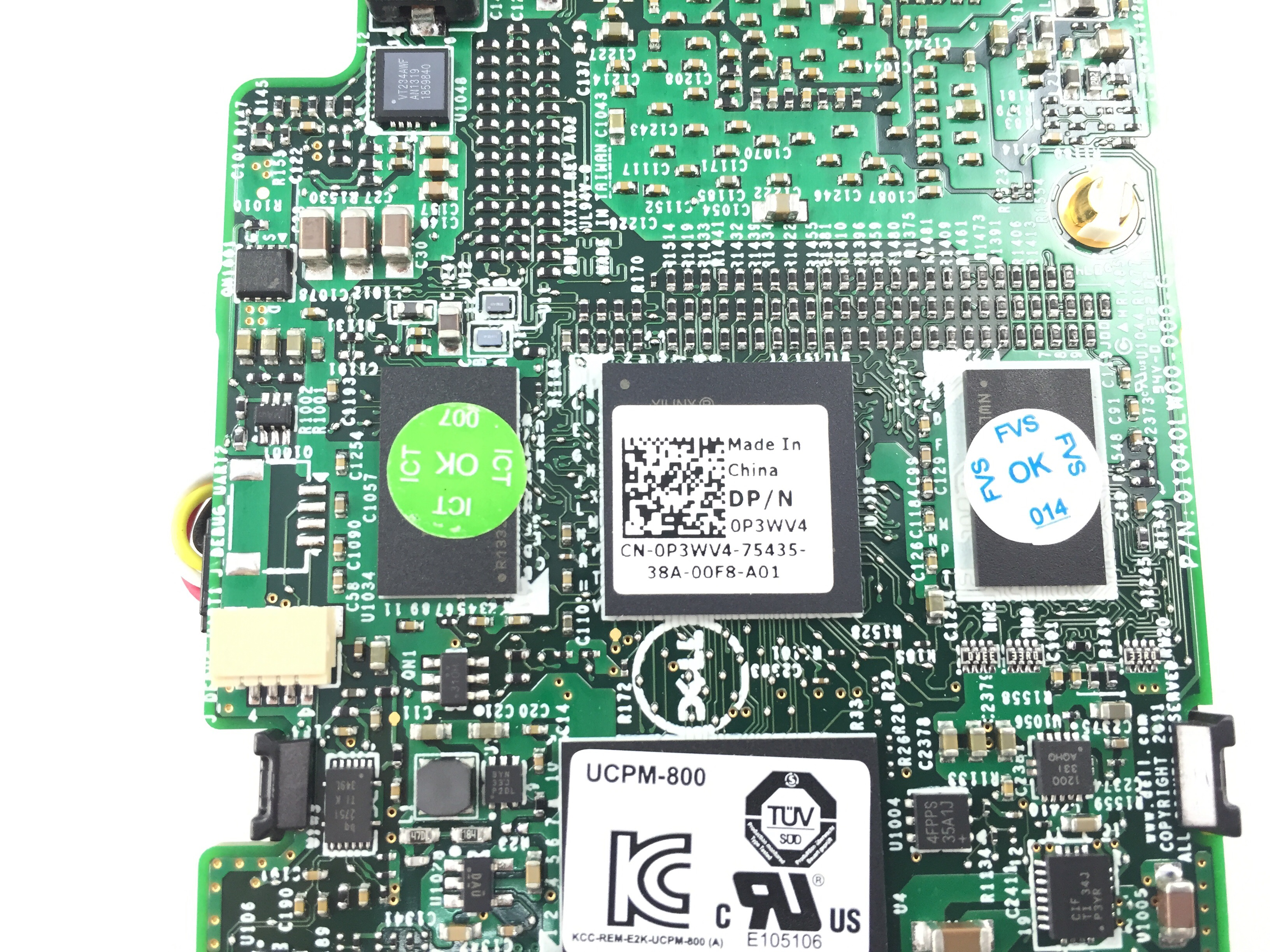 DELL POWEREDGE VRTX SHARED PERC 8 1GB CACHE DDR3 CONTROLLER W/ BATTERY  (0P3WV4)
