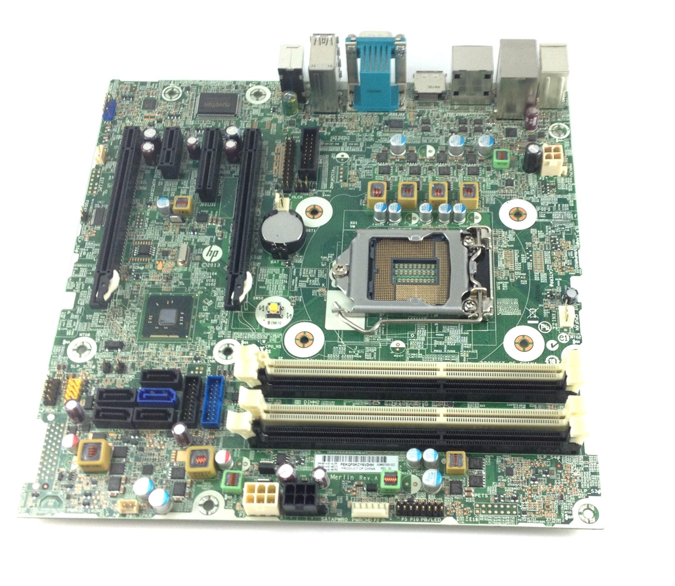 Dell Precision T1650 Microatx LGA1155 System Board w/Heatsink & I/O