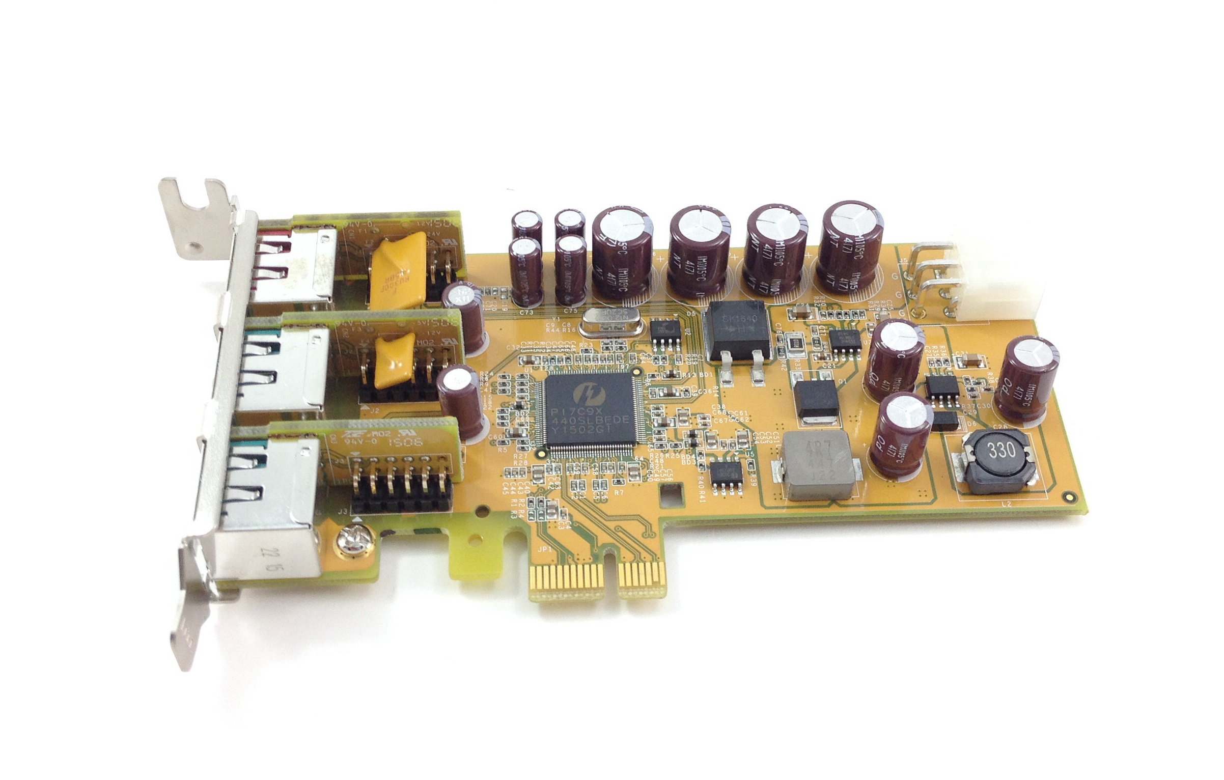 Dell 1 X 24V And 2 X 12V Powered Usb PCI-E Low Profile Network Card (05WDTX)