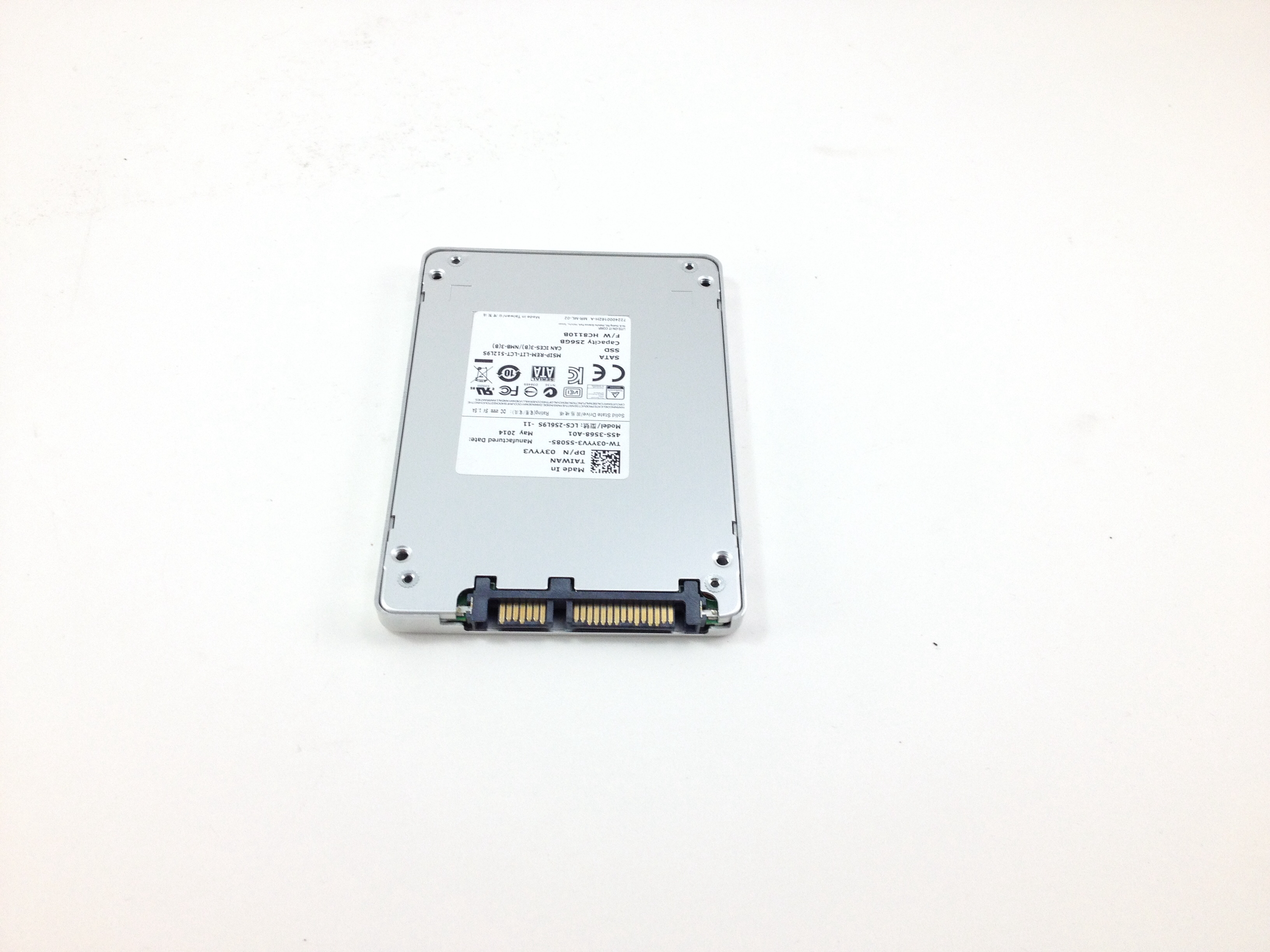 DELL LITE-ON 256GB SATA 2.5'' SOLID STATE DRIVE SSD (3YYV3)