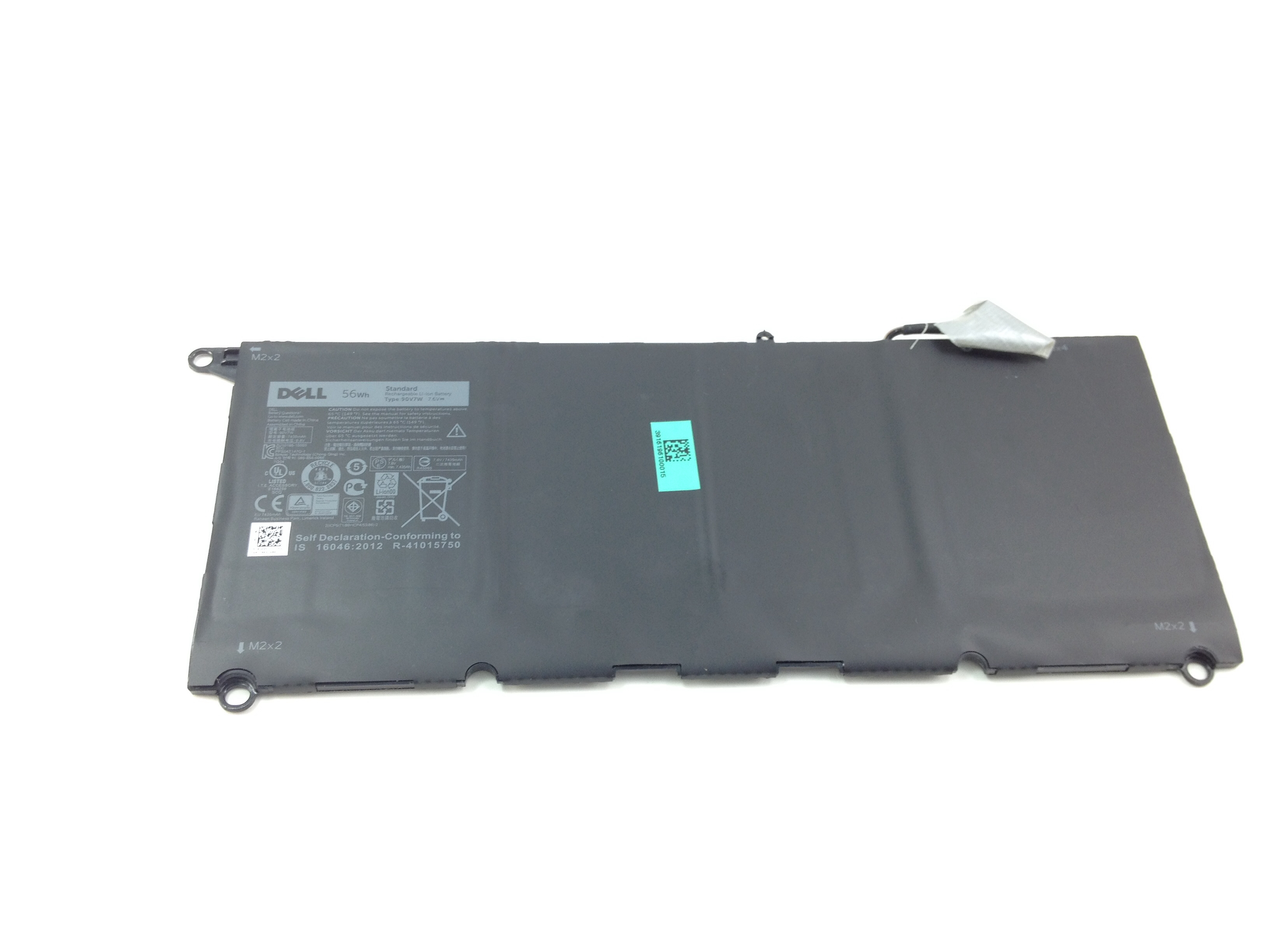 JHXPY Dell XPS 13 56Wh 7.4V Rechargable Li-Ion Battery (JHXPY)