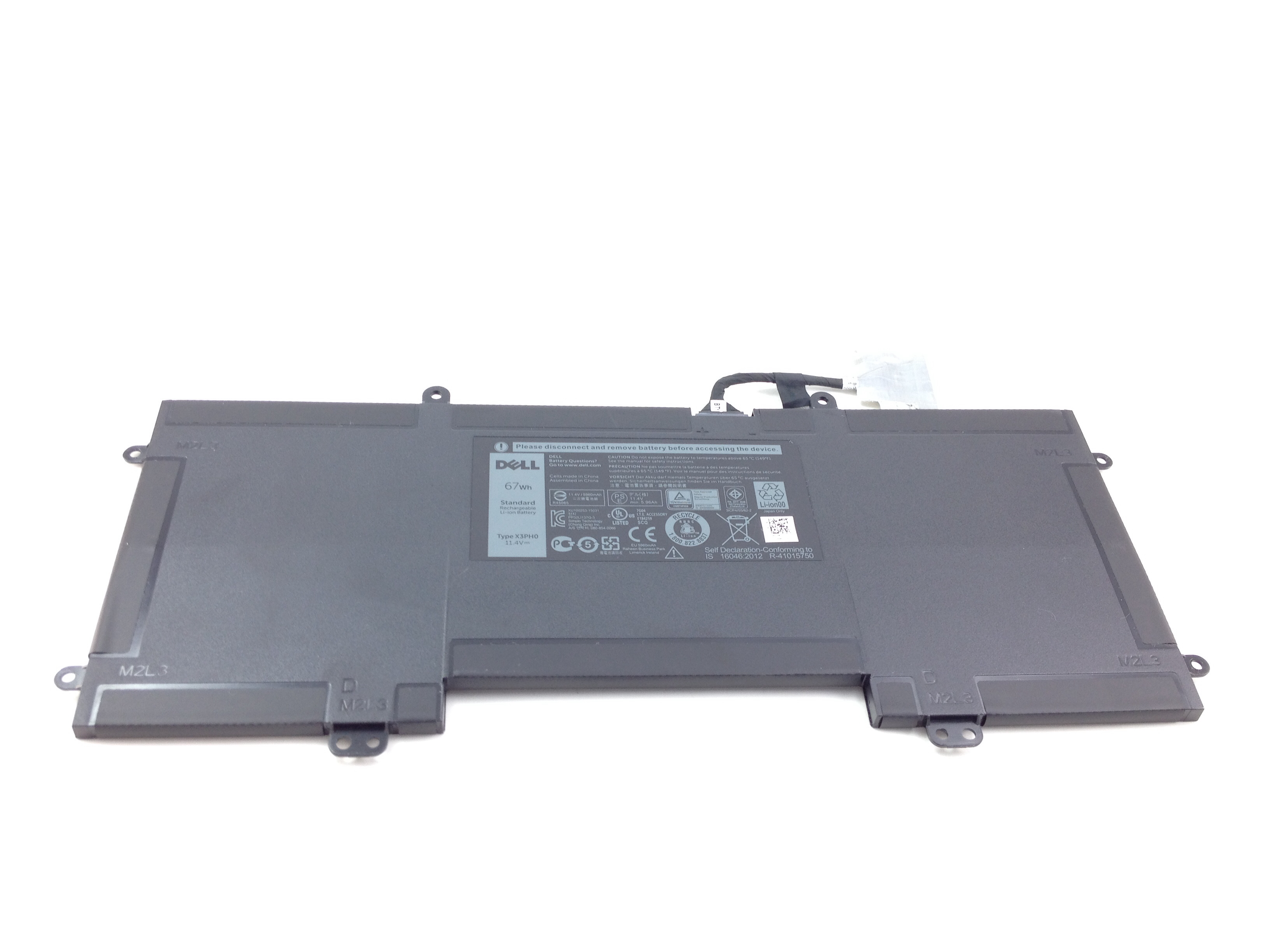 Dell X3Ph0 67Wh 6Cell Standard Rechargeable Li-Ion Battery (0MJMF6)
