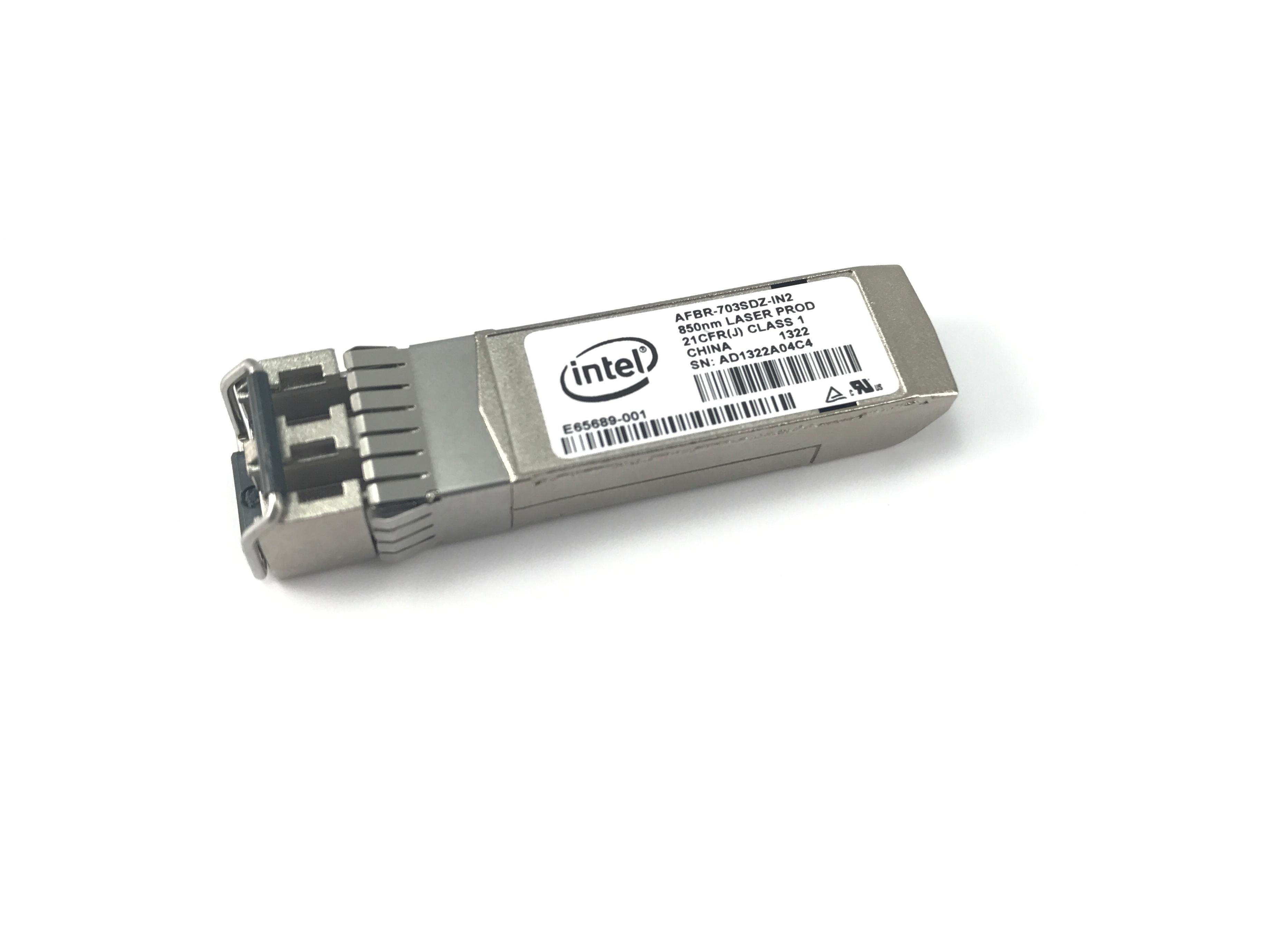 DELL INTEL E10GSFPSR 10GBASE SFP+ X520-DA2/SR2 TRANSCEIVER (R8H2F)