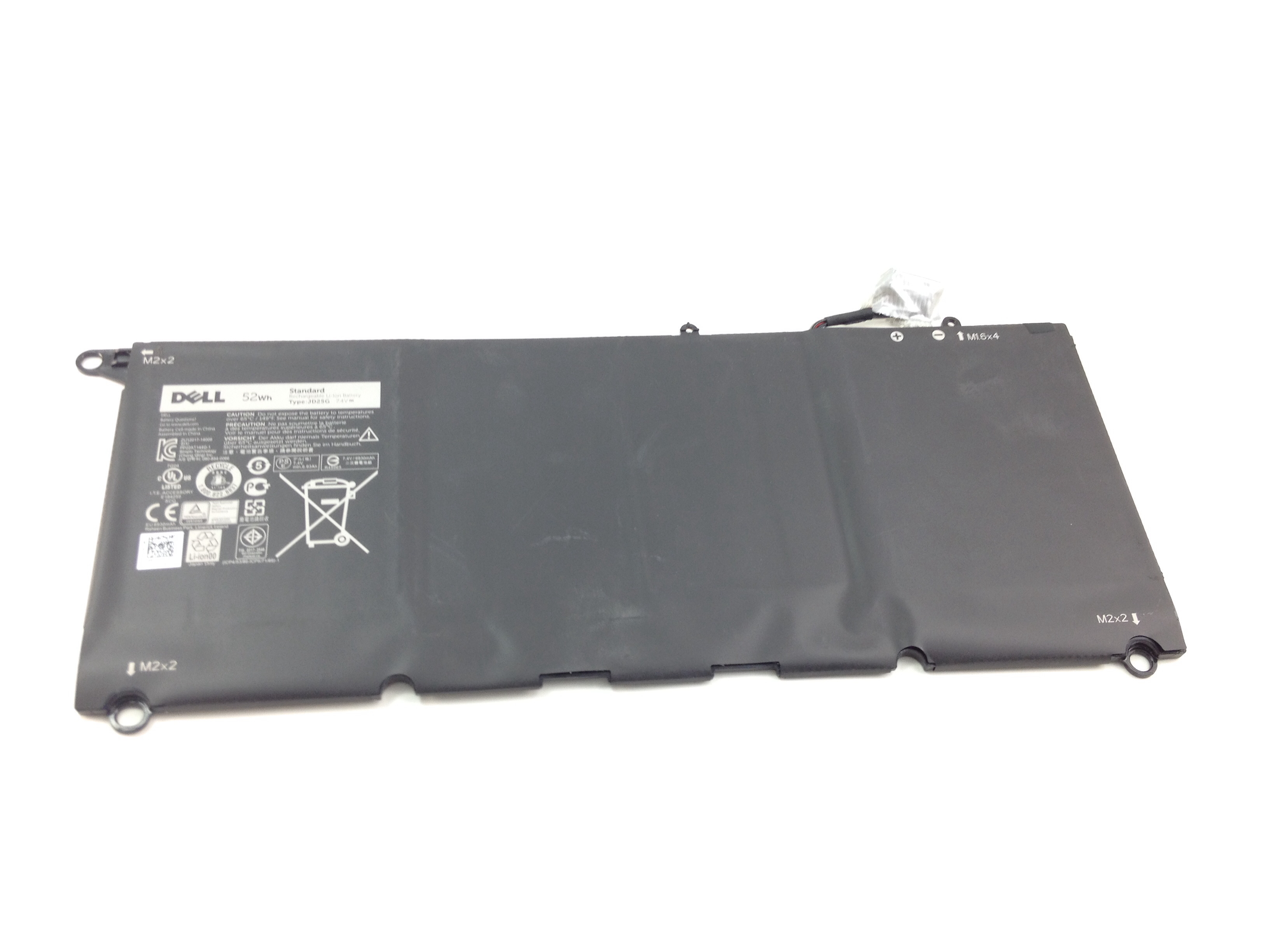 Dell XPS 13 9343 52Wh 6 Cell Laptop Battery (00N7T6)
