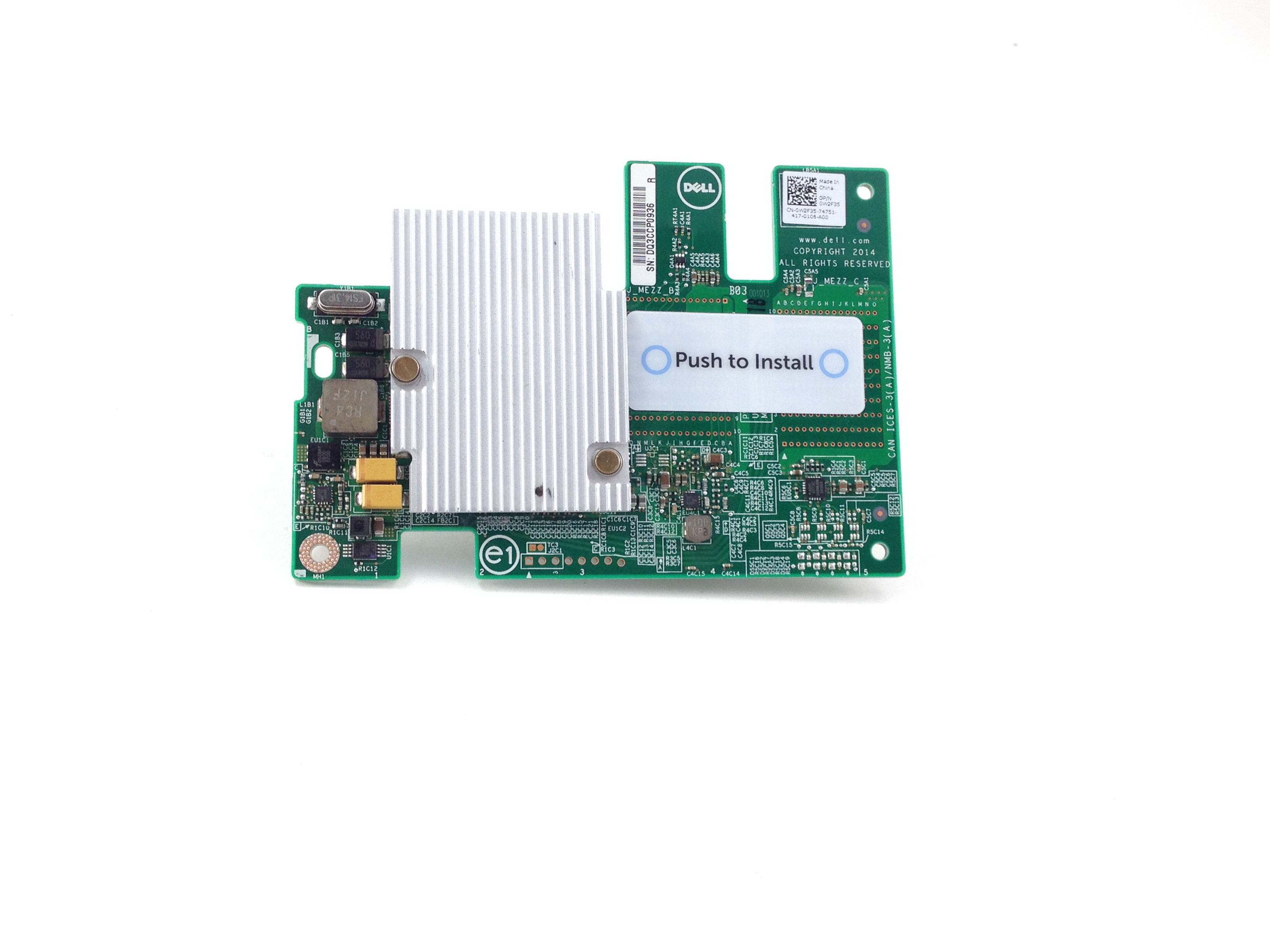 Dell PowerEdge FC620 FC630 Expansion Mezzanine Card (W2F35)