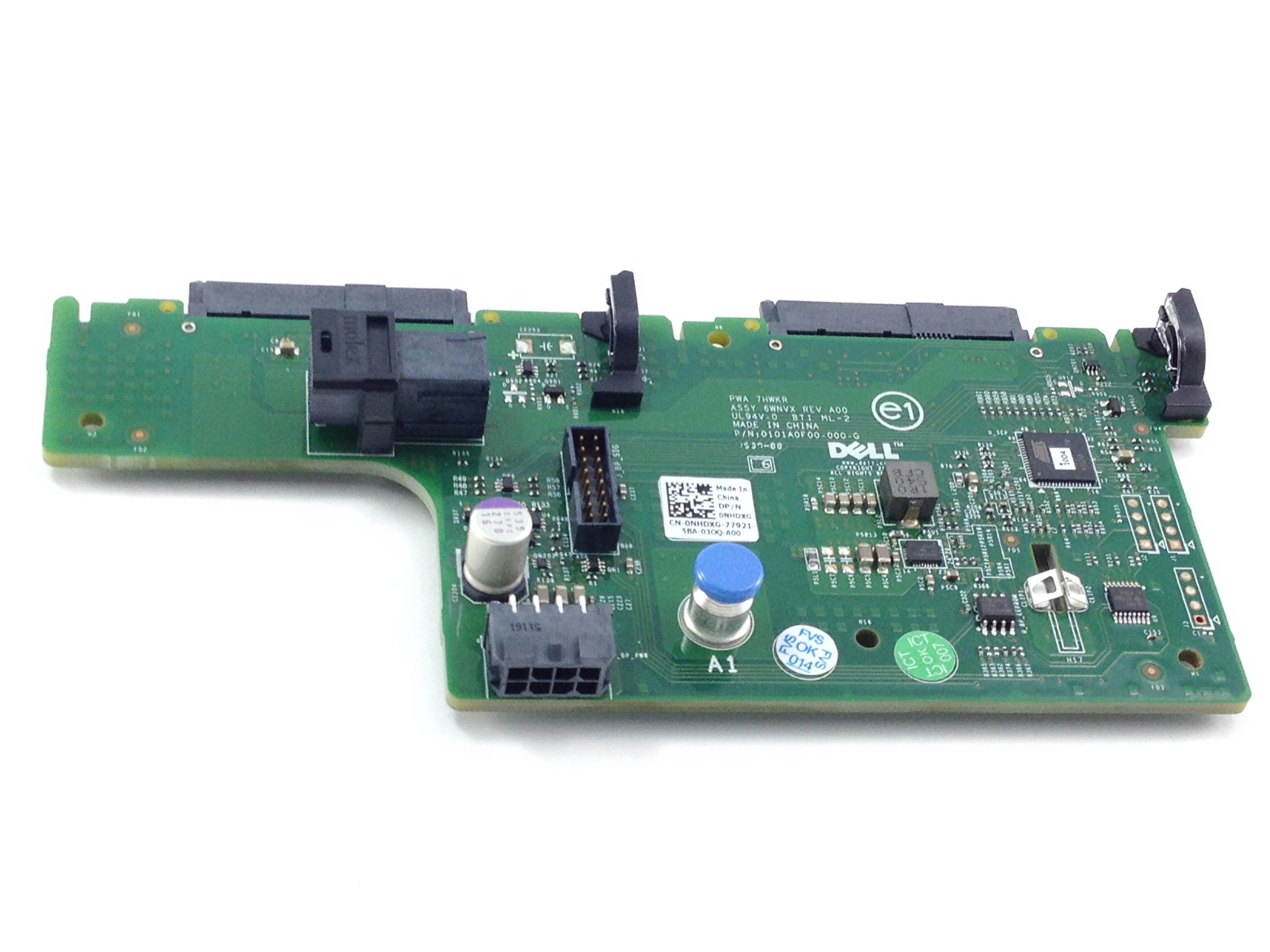 NHDXG Dell PowerEdge R730xd 2 X 2.5'' SFF Rear HDD Backplane (NHDXG)