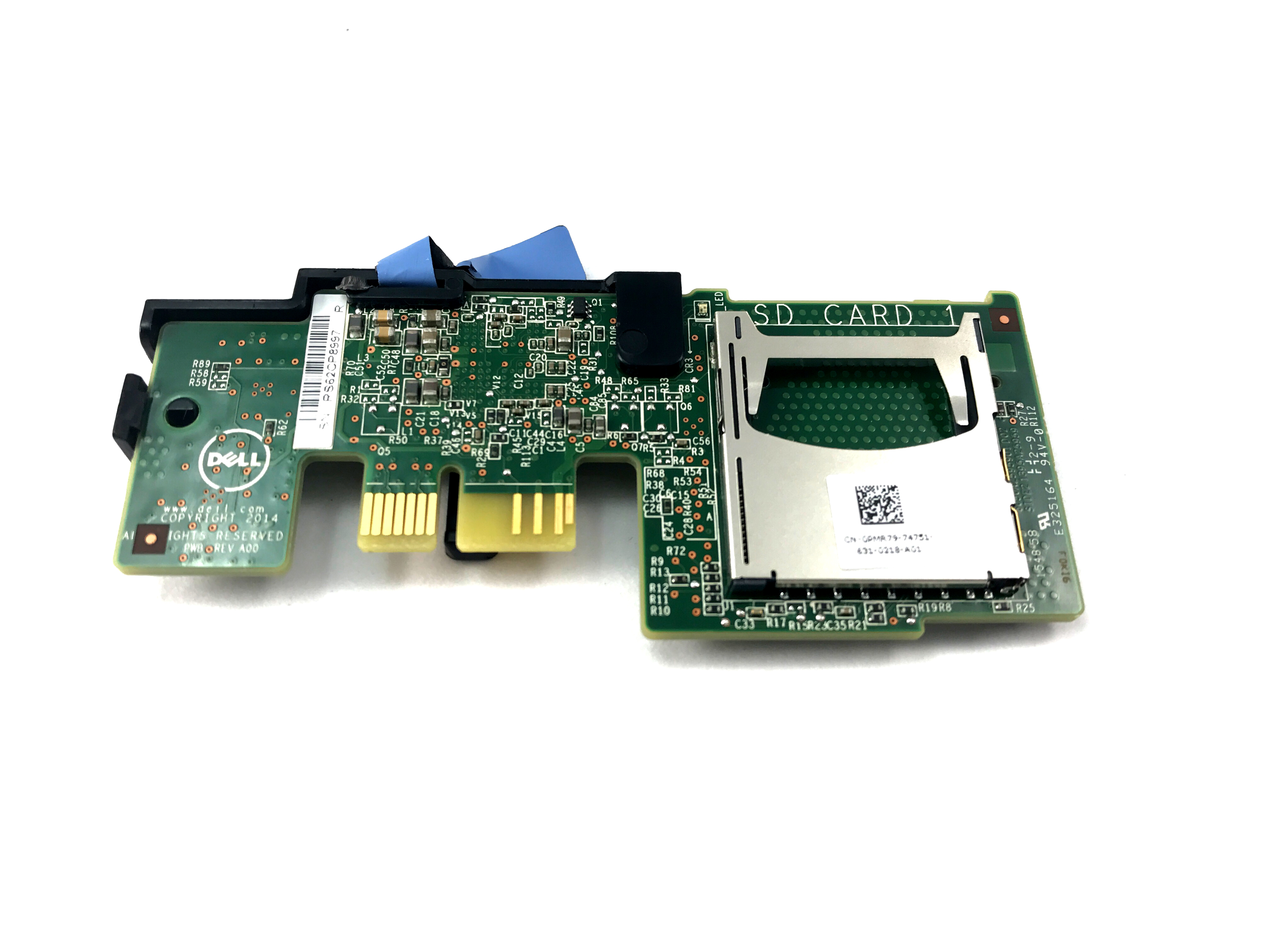 DELL DUAL SD CARD MODULE FOR POWEREDGE R330 R430 R530 R630 R730 (PMR79)