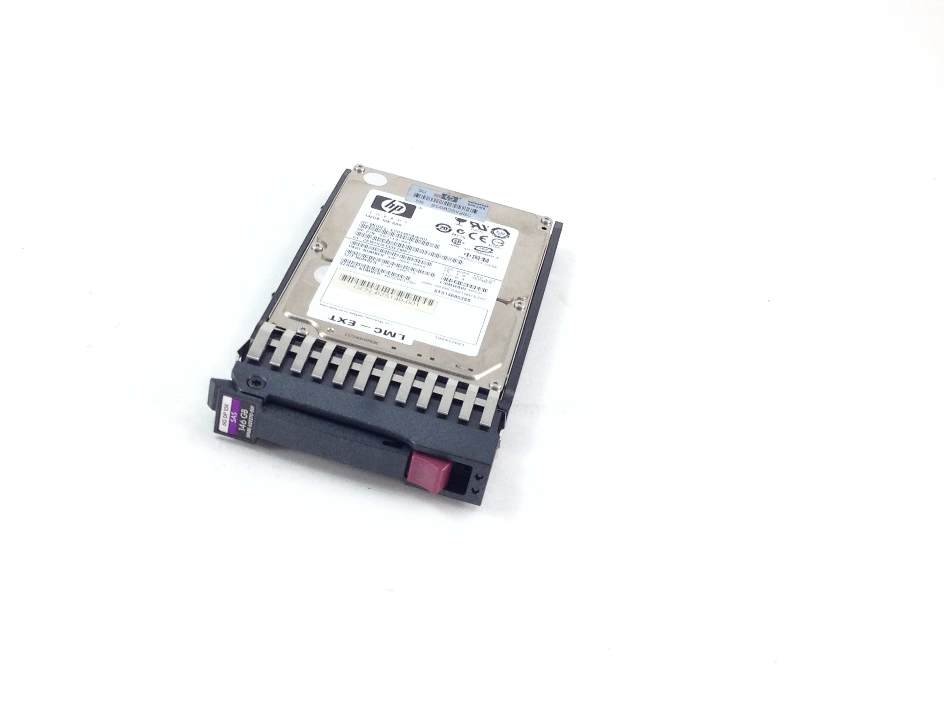 HP 146GB 10K 6Gbps SAS 2.5'' Hard Drive (625270-001)