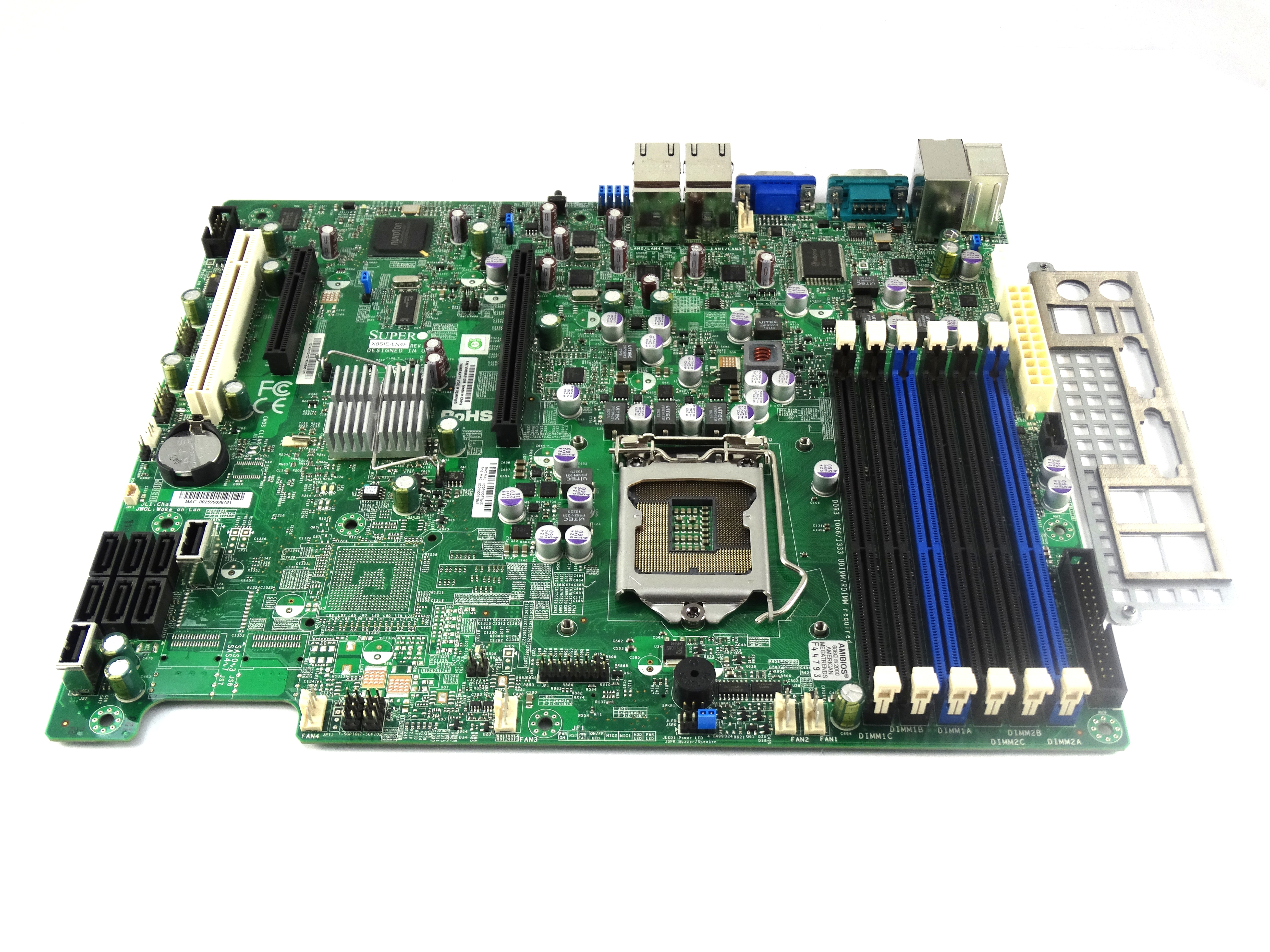 Supermicro Intel 3420 Chipset ATX Server Motherboard (X8SIE-LN4F)
