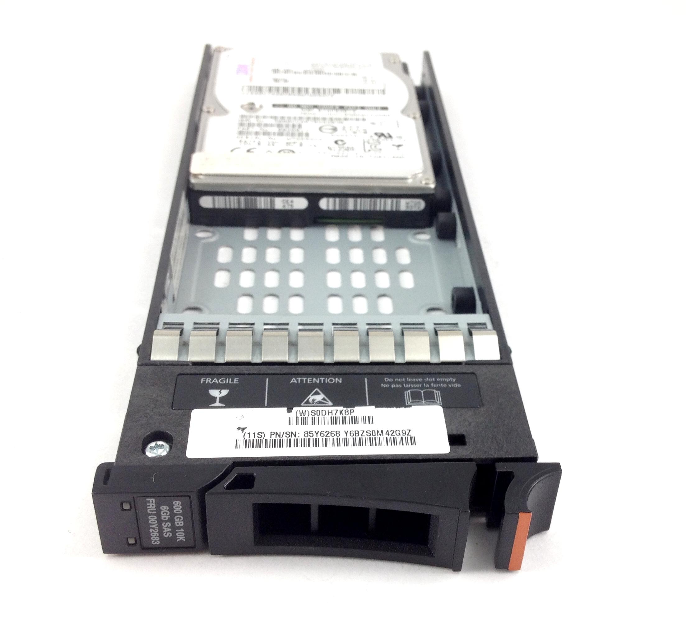 IBM STORWIZE V7000 600GB 10K 6GBPS SAS 2.5'' HARD DRIVE W/ TRAY (00Y2683)