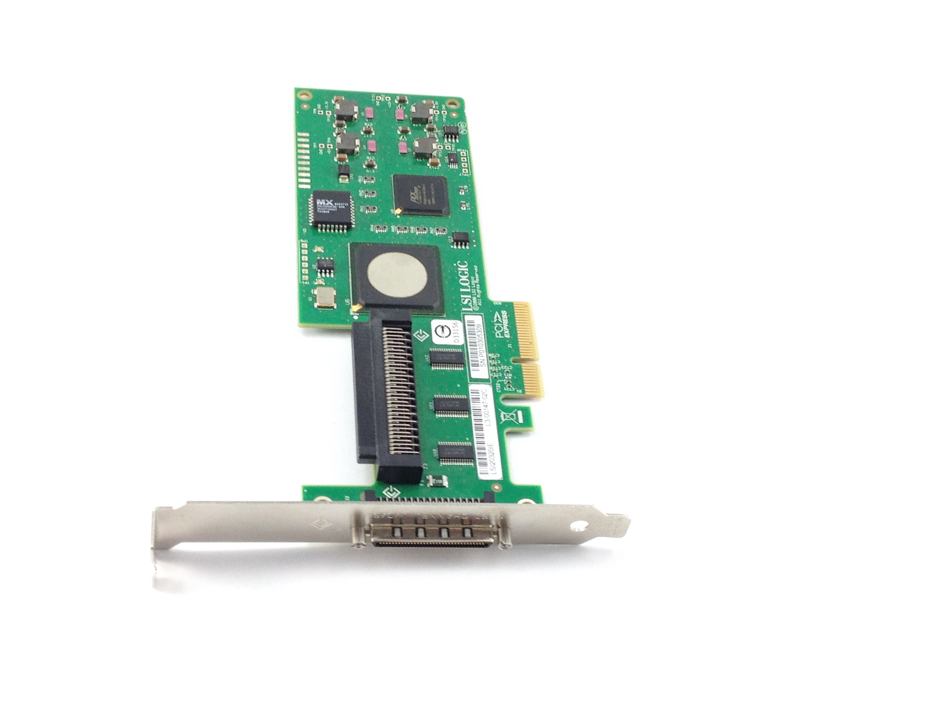 Dell LSI 20320Ie PCI-E U320 SCSI Adapter Controller (NU947)